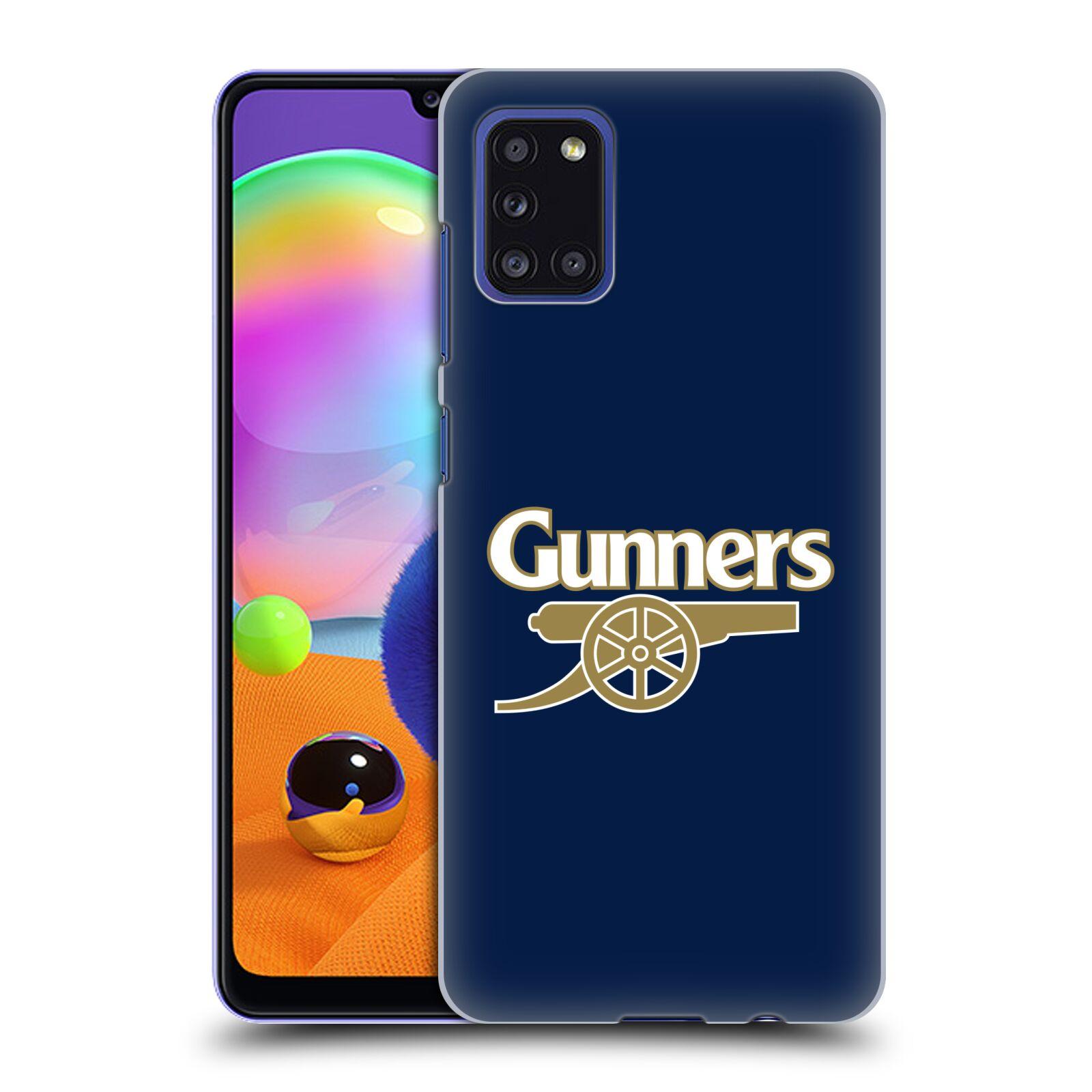 Plastové pouzdro na mobil Samsung Galaxy A31 - Head Case - Arsenal FC - Gunners