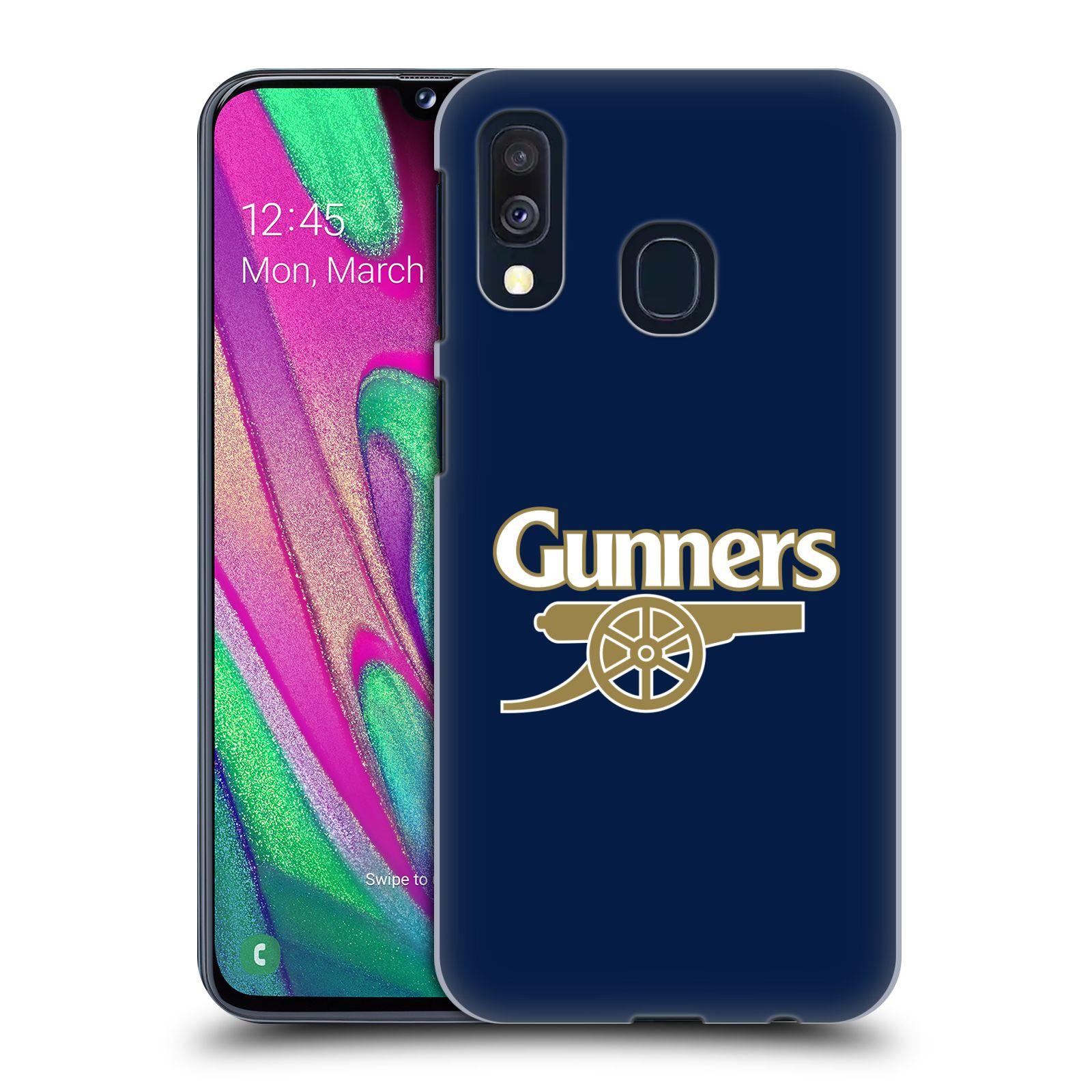 Plastové pouzdro na mobil Samsung Galaxy A40 - Head Case - Arsenal FC - Gunners