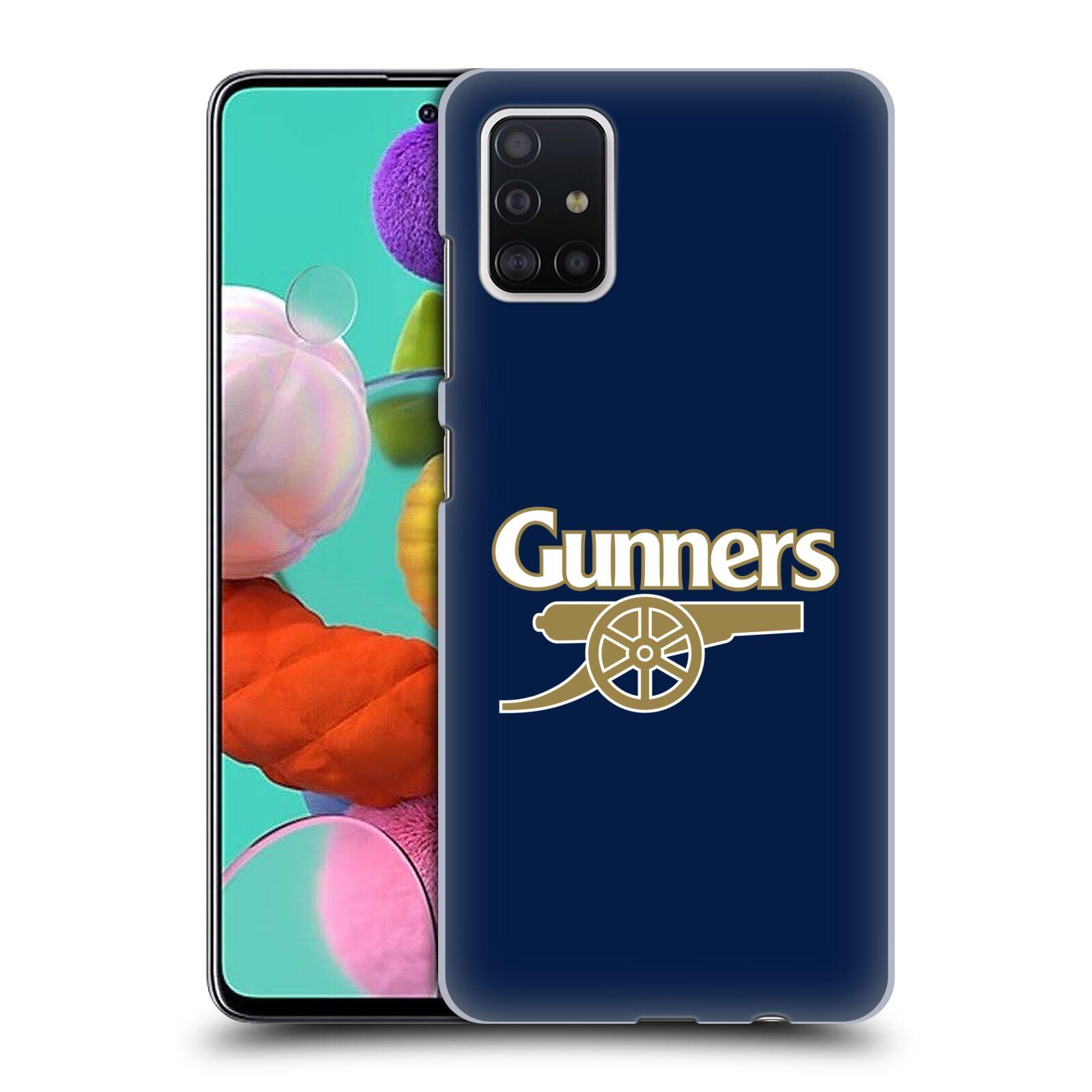 Plastové pouzdro na mobil Samsung Galaxy A51 - Head Case - Arsenal FC - Gunners