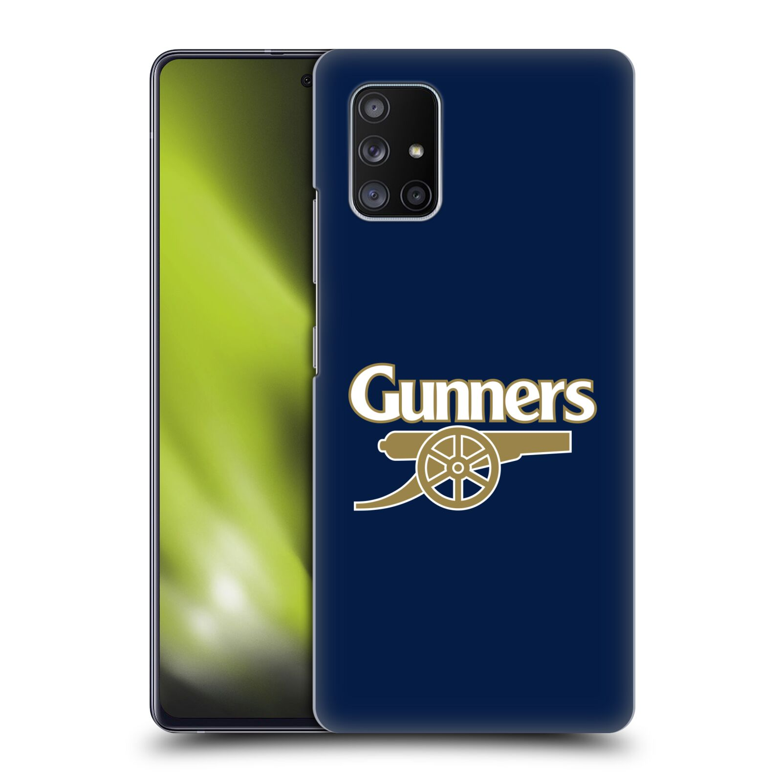 Plastové pouzdro na mobil Samsung Galaxy A51 5G - Head Case - Arsenal FC - Gunners