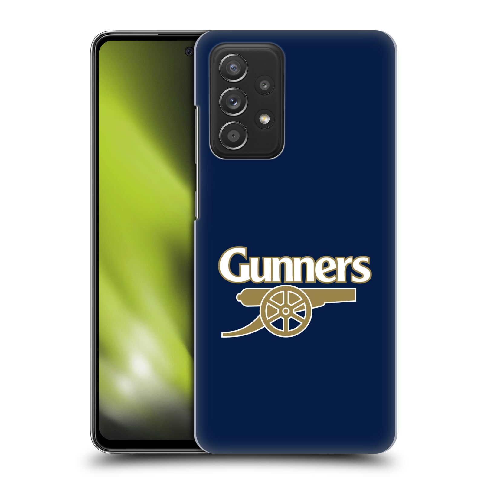 Plastové pouzdro na mobil Samsung Galaxy A52 / A52 5G / A52s 5G - Head Case - Arsenal FC - Gunners