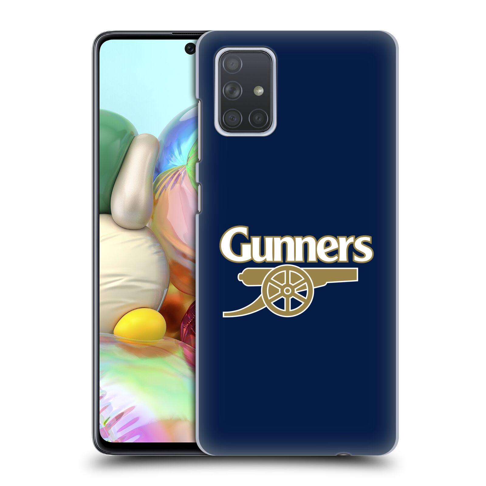 Plastové pouzdro na mobil Samsung Galaxy A71 - Head Case - Arsenal FC - Gunners