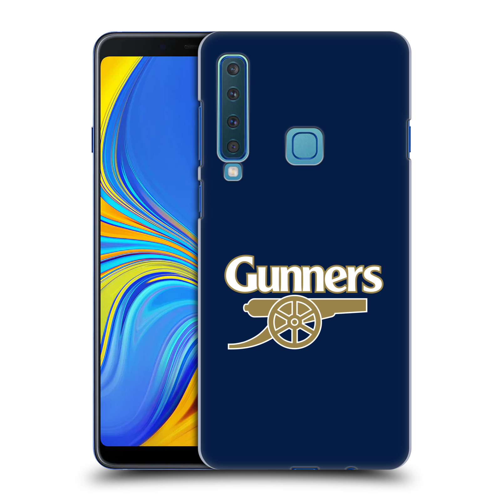 Plastové pouzdro na mobil Samsung Galaxy A9 (2018) - Head Case - Arsenal FC - Gunners