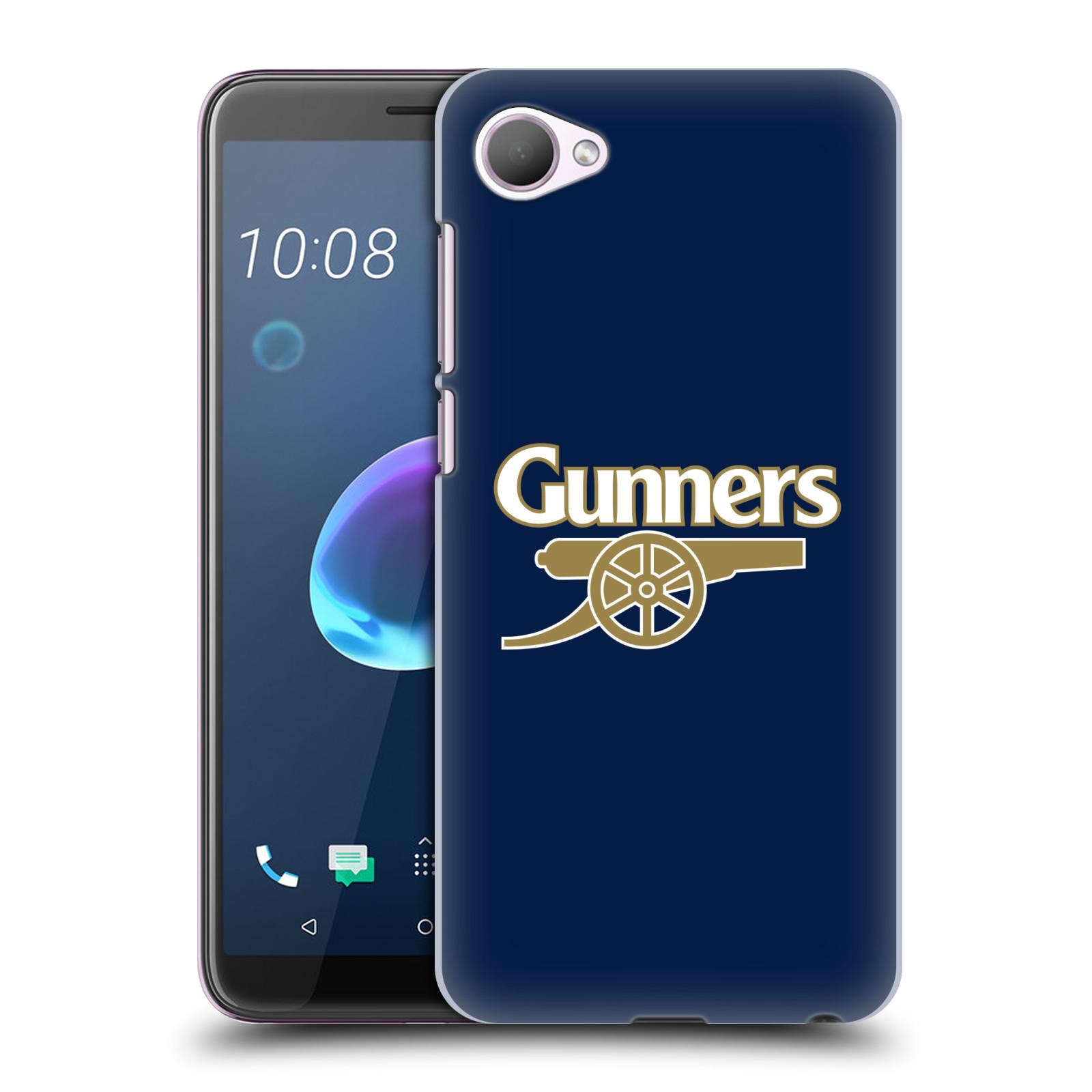 Plastové pouzdro na mobil HTC Desire 12 - Head Case - Arsenal FC - Gunners