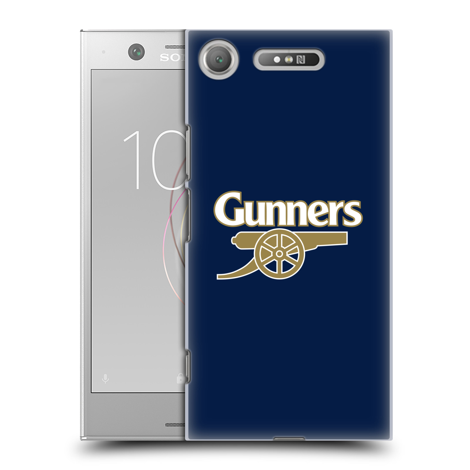 Plastové pouzdro na mobil Sony Xperia XZ1 - Head Case - Arsenal FC - Gunners
