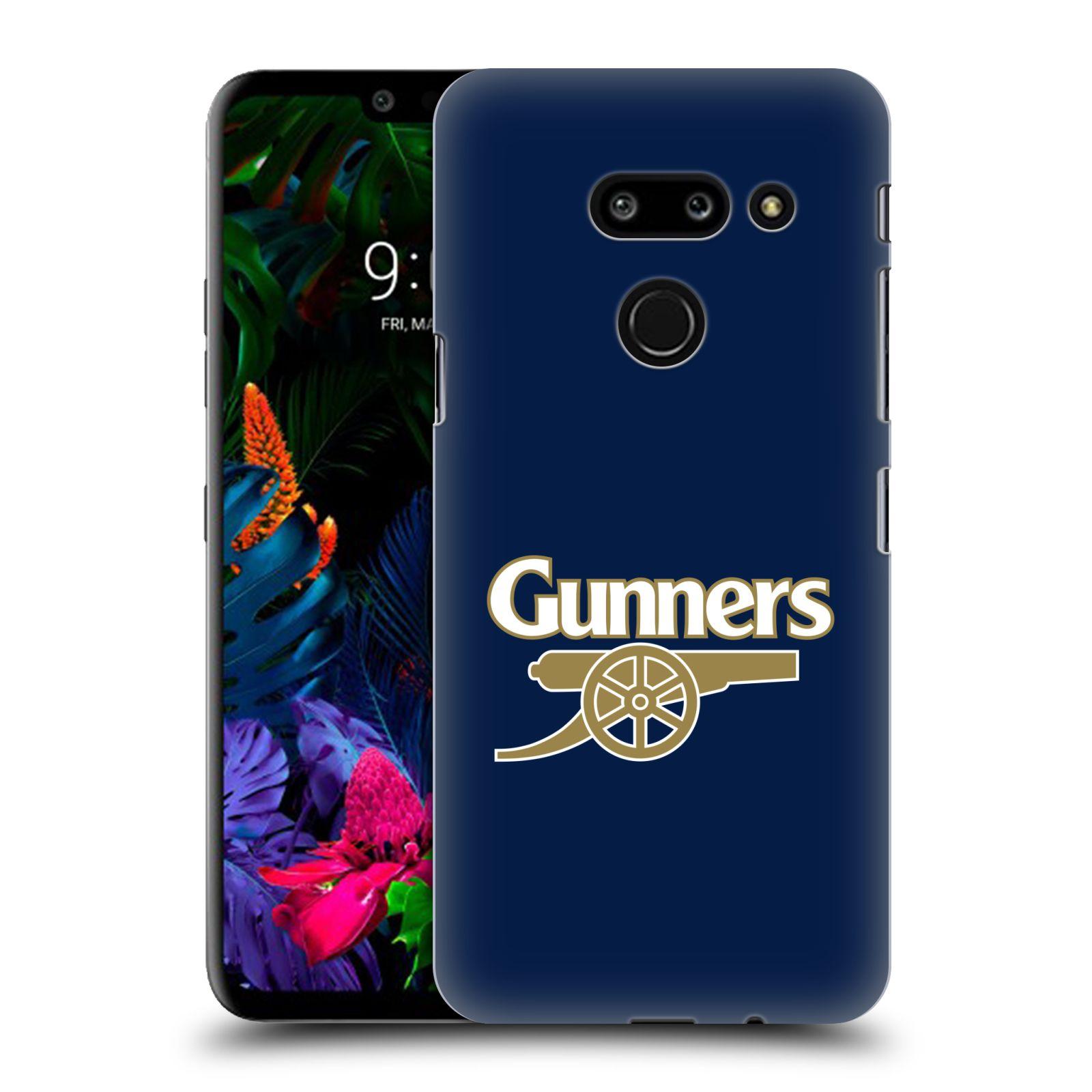 Plastové pouzdro na mobil LG G8 ThinQ - Head Case - Arsenal FC - Gunners