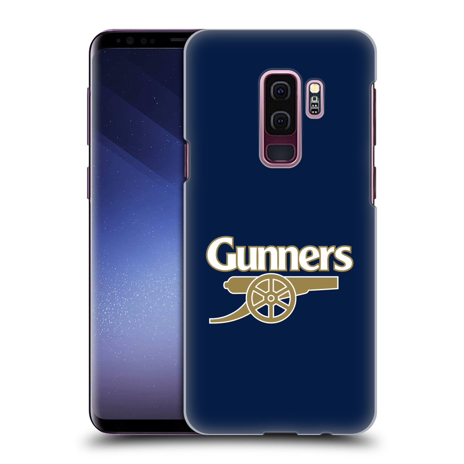 Plastové pouzdro na mobil Samsung Galaxy S9 Plus - Head Case - Arsenal FC - Gunners
