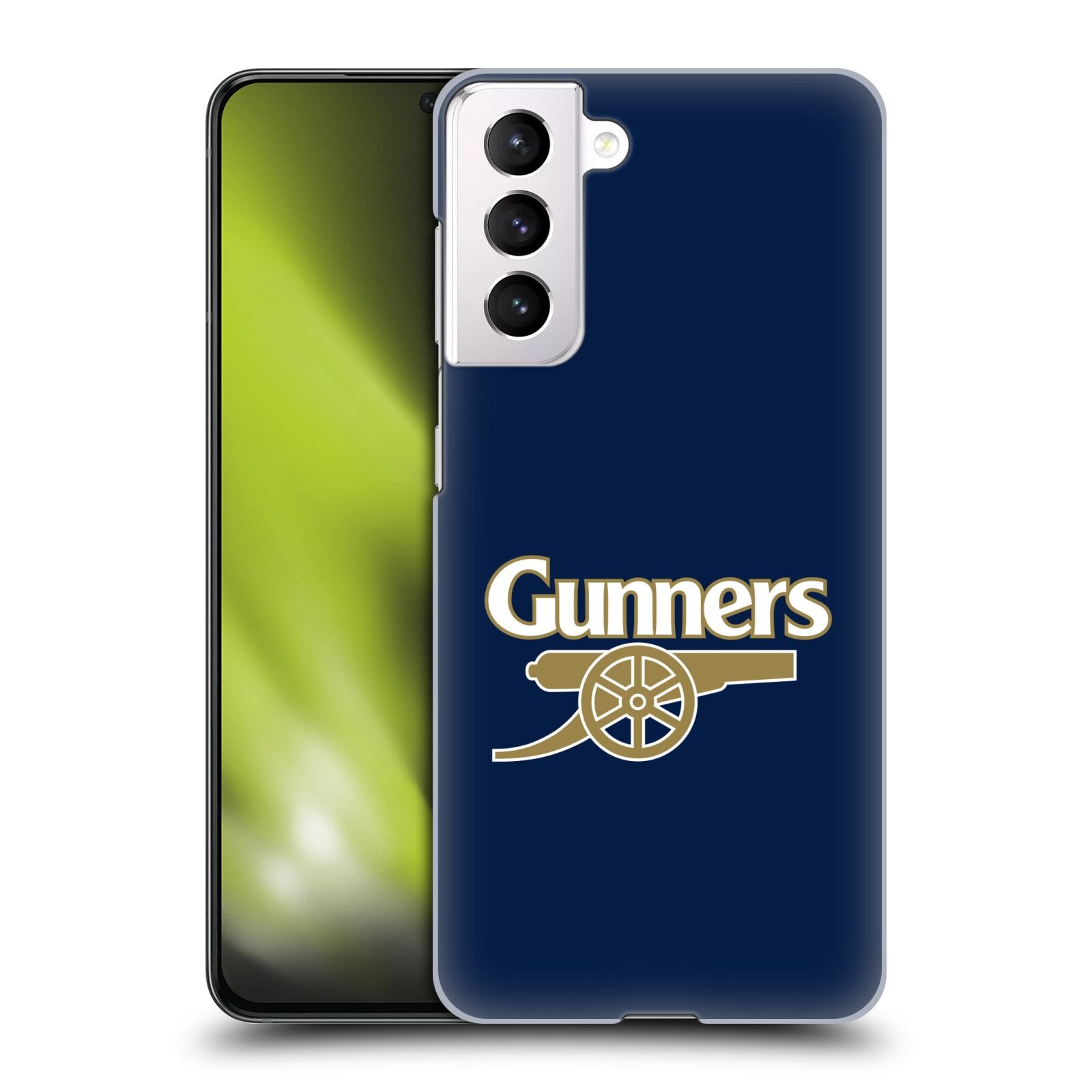 Plastové pouzdro na mobil Samsung Galaxy S21 5G - Head Case - Arsenal FC - Gunners