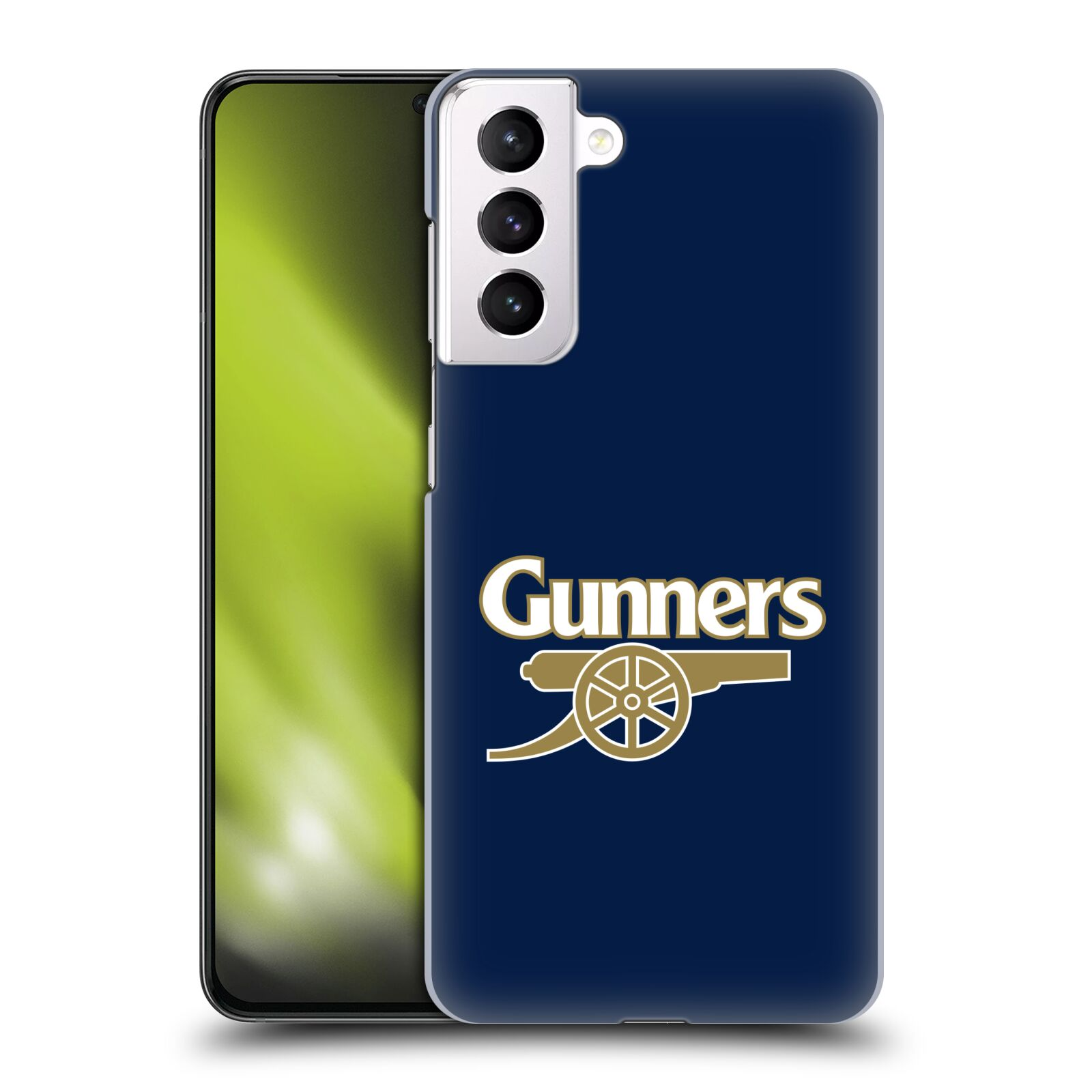 Plastové pouzdro na mobil Samsung Galaxy S21 Plus 5G - Head Case - Arsenal FC - Gunners