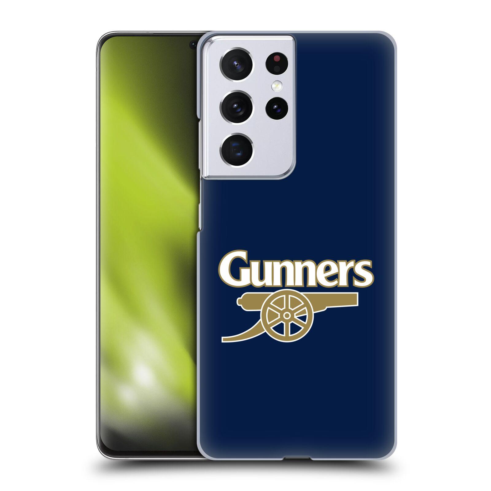 Plastové pouzdro na mobil Samsung Galaxy S21 Ultra 5G - Head Case - Arsenal FC - Gunners