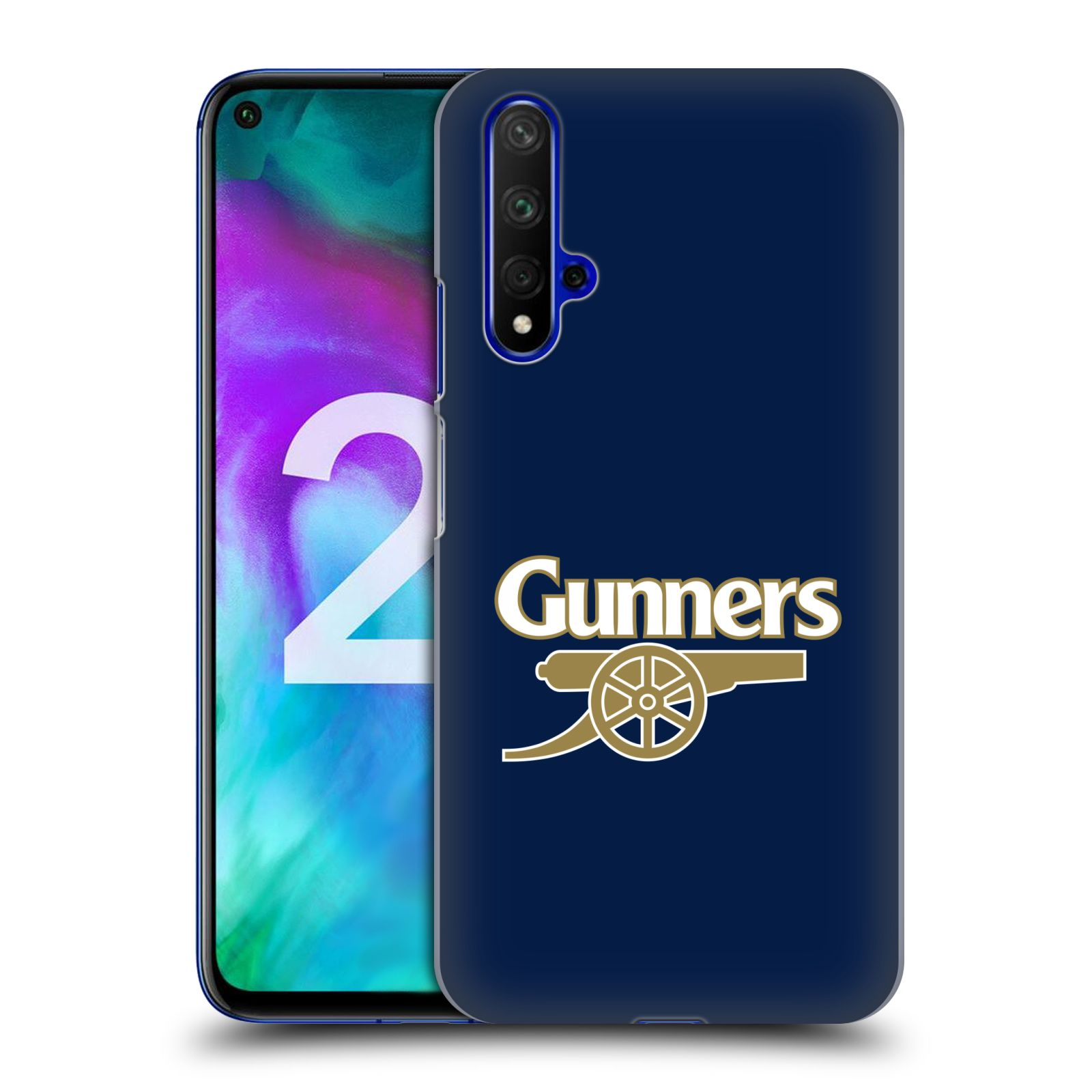 Plastové pouzdro na mobil Honor 20 - Head Case - Arsenal FC - Gunners