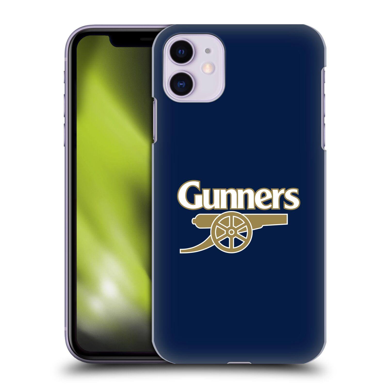 Plastové pouzdro na mobil Apple iPhone 11 - Head Case - Arsenal FC - Gunners