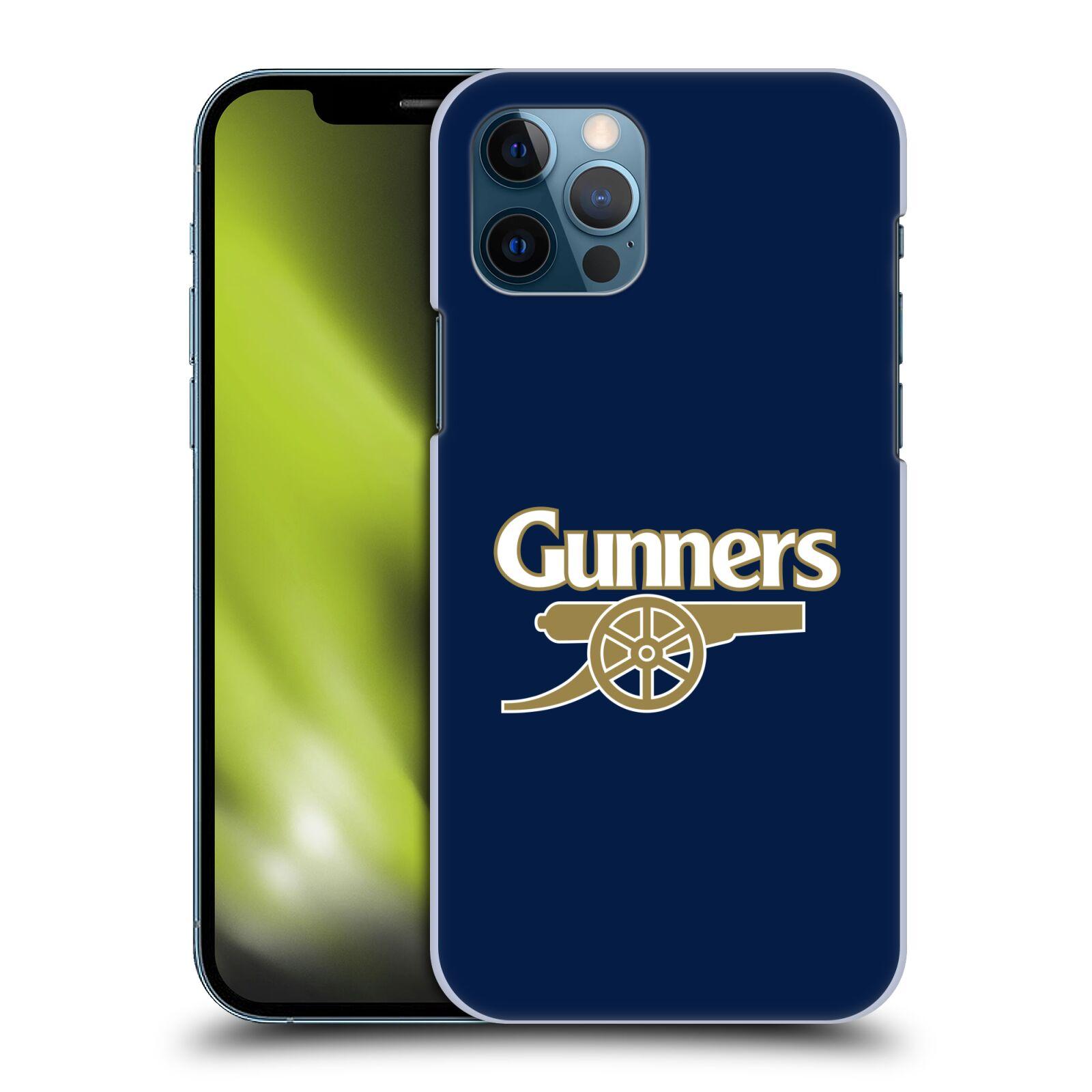 Plastové pouzdro na mobil Apple iPhone 12 / 12 Pro - Head Case - Arsenal FC - Gunners
