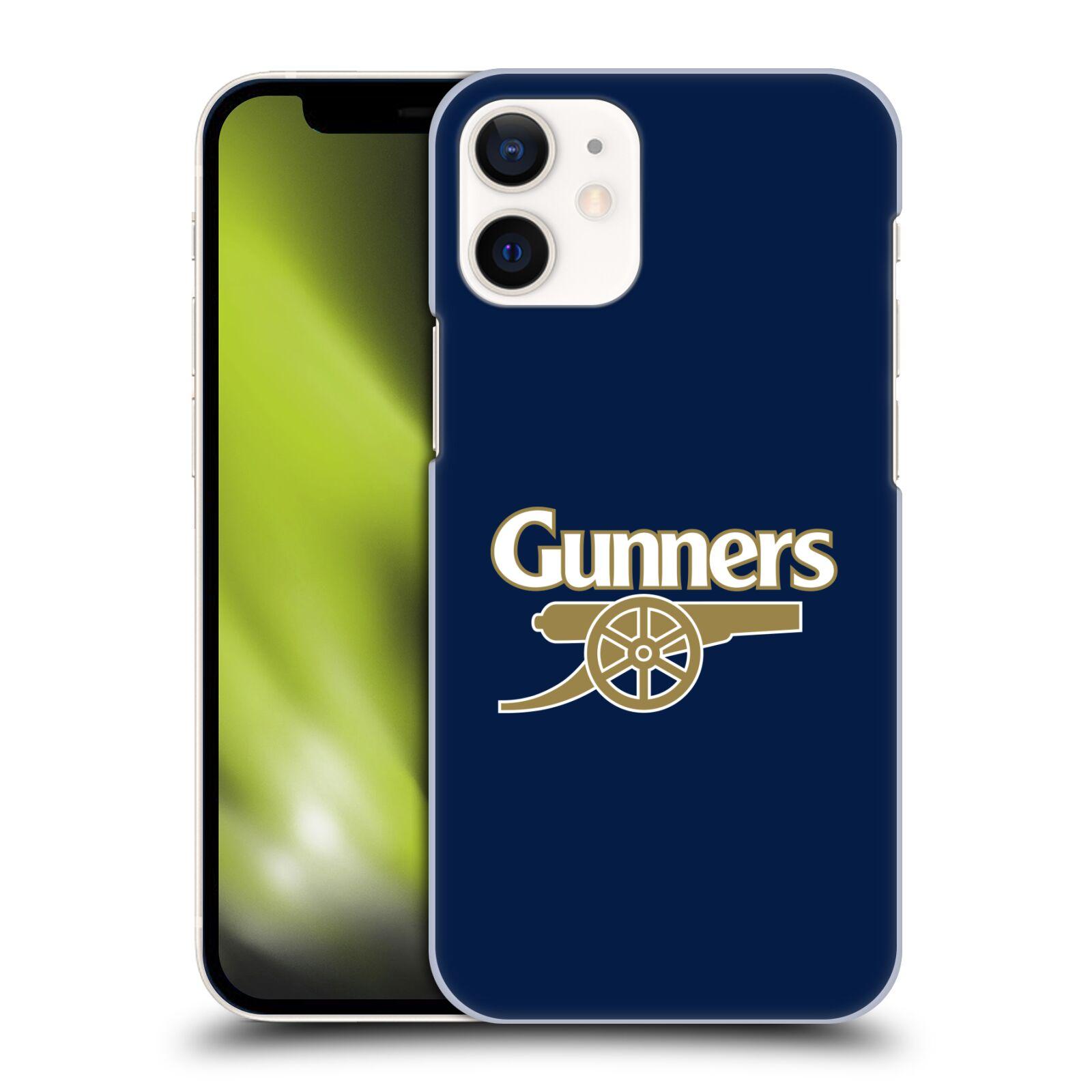 Plastové pouzdro na mobil Apple iPhone 12 Mini - Head Case - Arsenal FC - Gunners