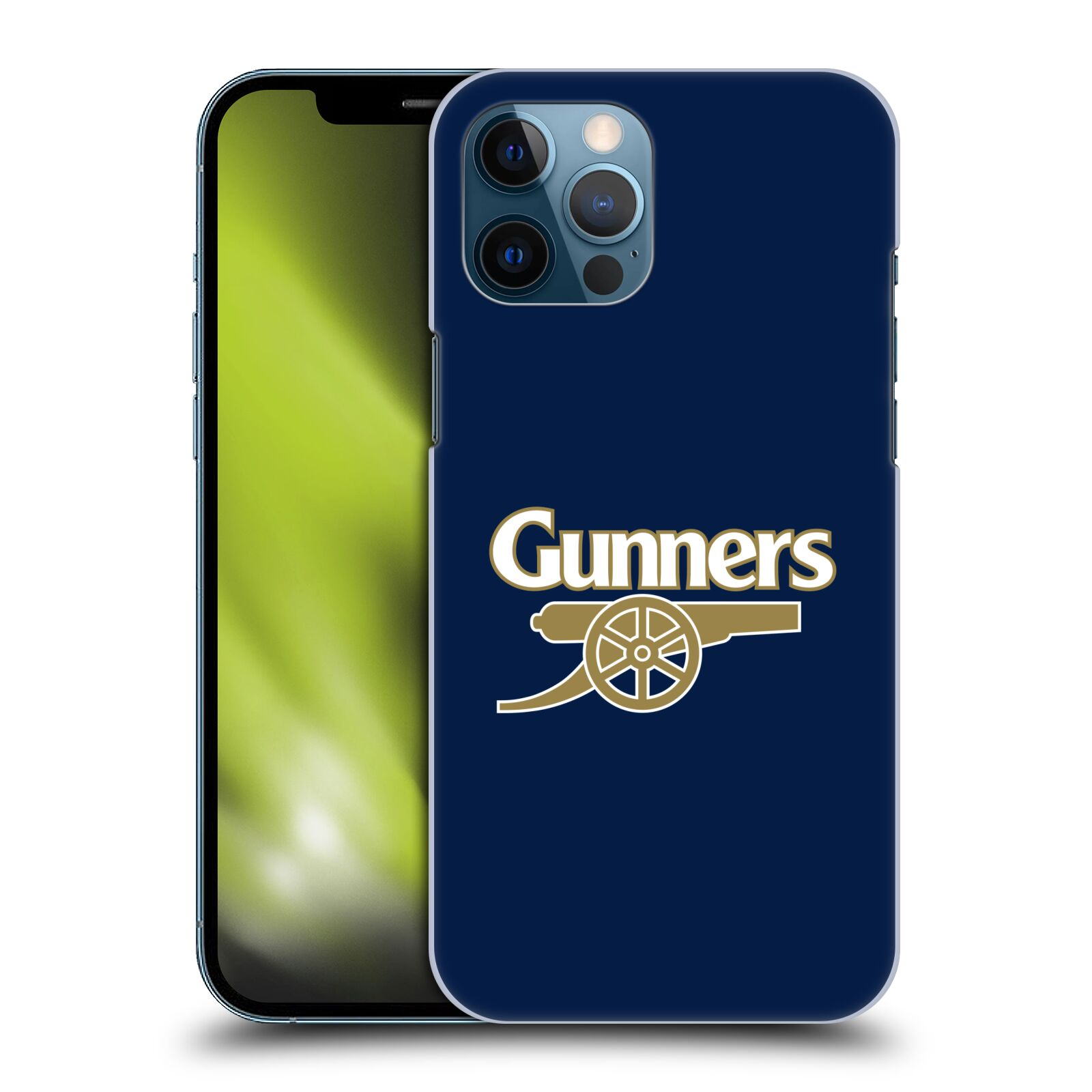 Plastové pouzdro na mobil Apple iPhone 12 Pro Max - Head Case - Arsenal FC - Gunners