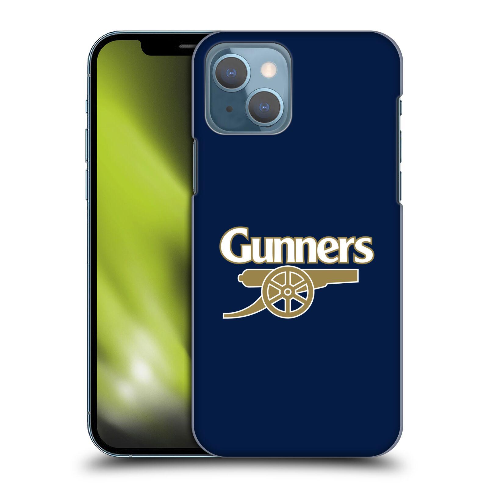 Plastové pouzdro na mobil Apple iPhone 13 - Head Case - Arsenal FC - Gunners