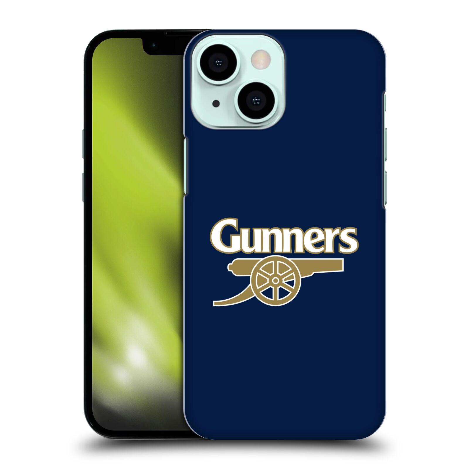 Plastové pouzdro na mobil Apple iPhone 13 Mini - Head Case - Arsenal FC - Gunners
