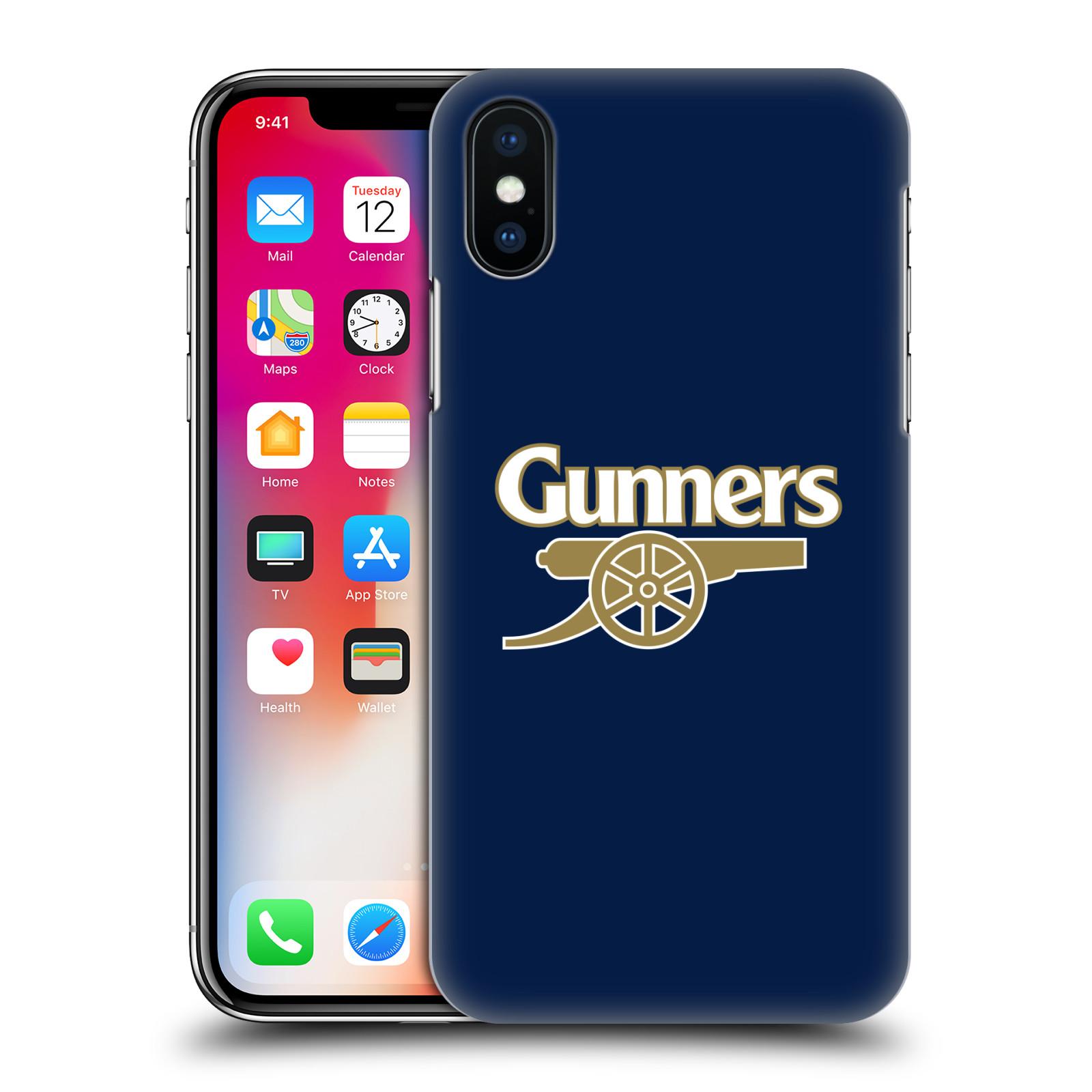 Plastové pouzdro na mobil Apple iPhone X - Head Case - Arsenal FC - Gunners