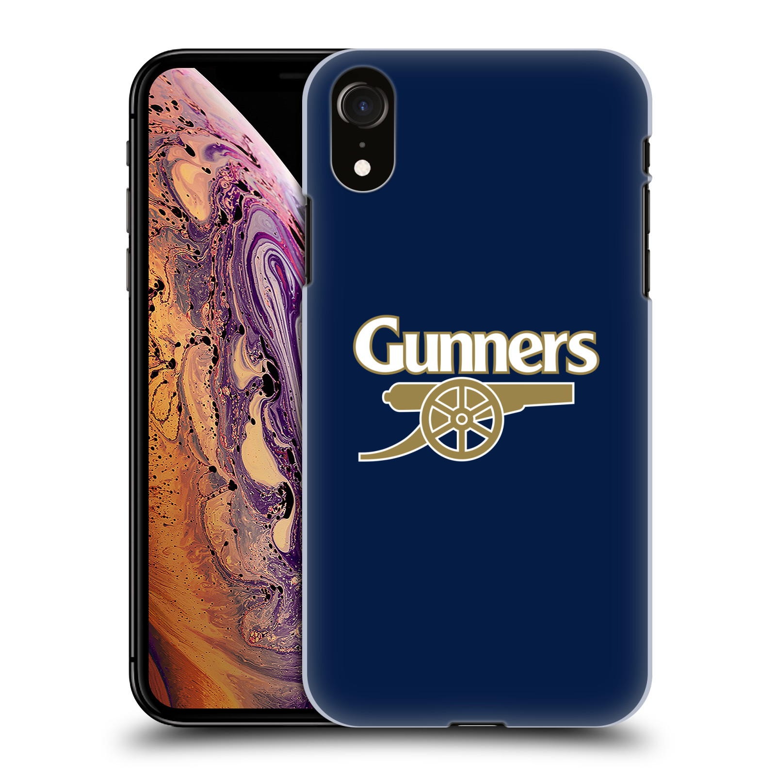 Plastové pouzdro na mobil Apple iPhone XR - Head Case - Arsenal FC - Gunners