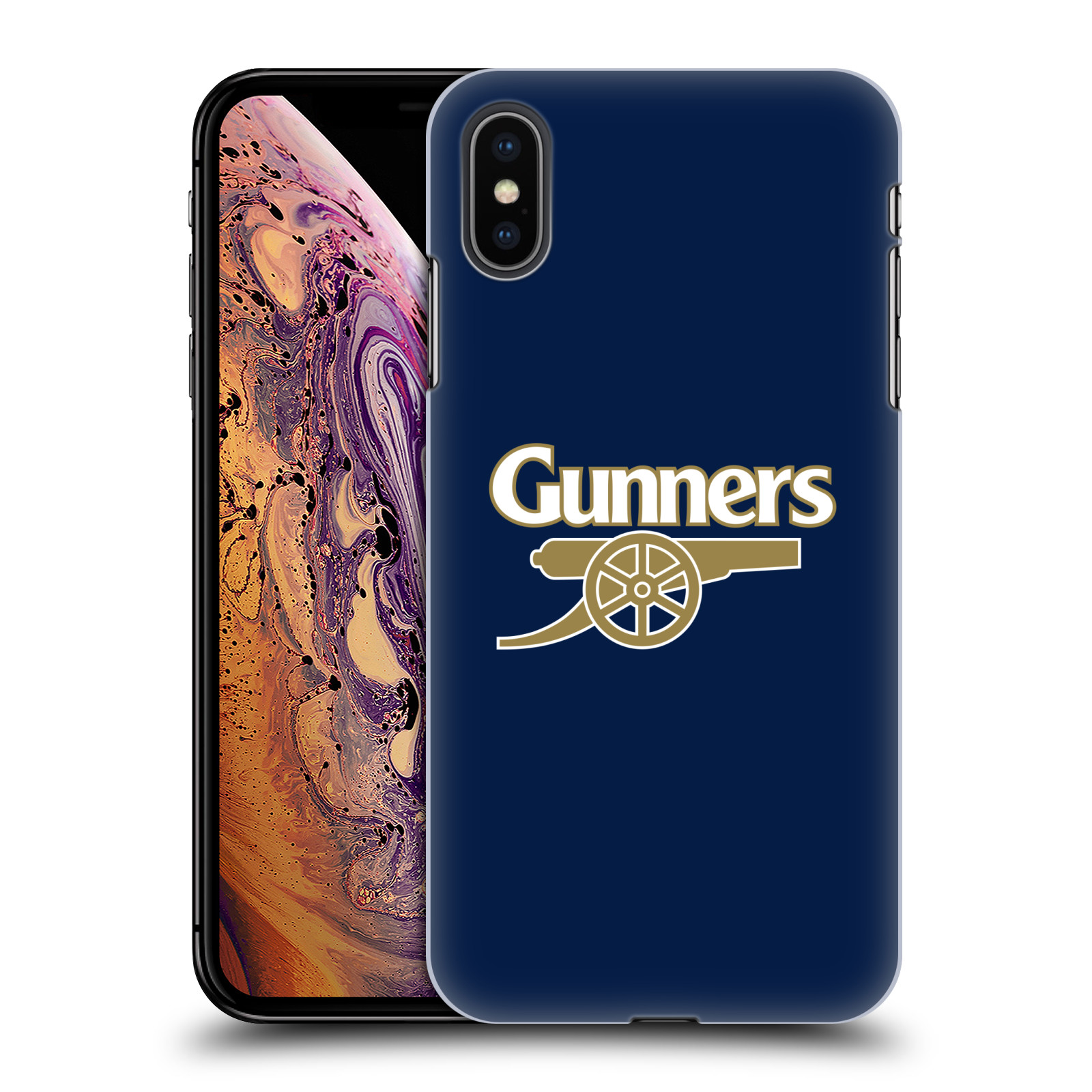 Plastové pouzdro na mobil Apple iPhone XS Max - Head Case - Arsenal FC - Gunners