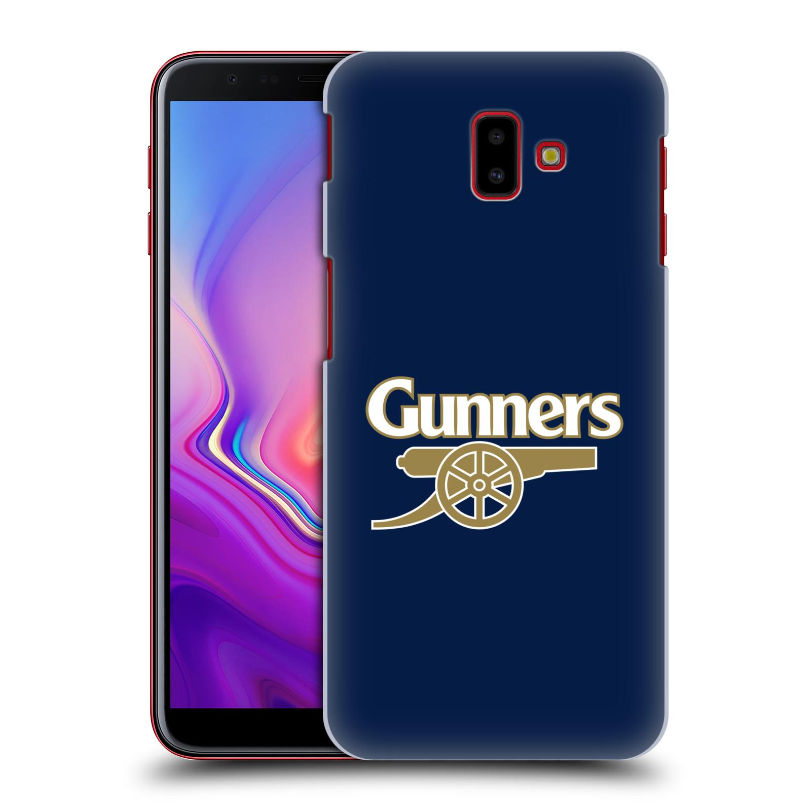 Plastové pouzdro na mobil Samsung Galaxy J6 Plus - Head Case - Arsenal FC - Gunners