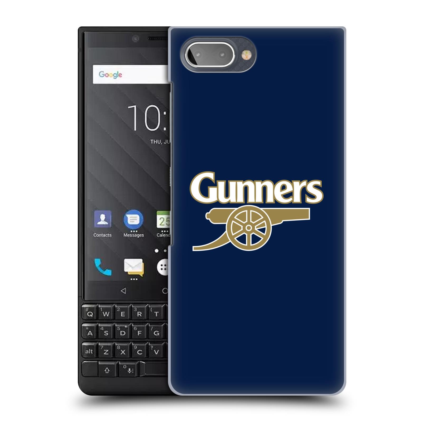Plastové pouzdro na mobil Blackberry Key 2 - Head Case - Arsenal FC - Gunners