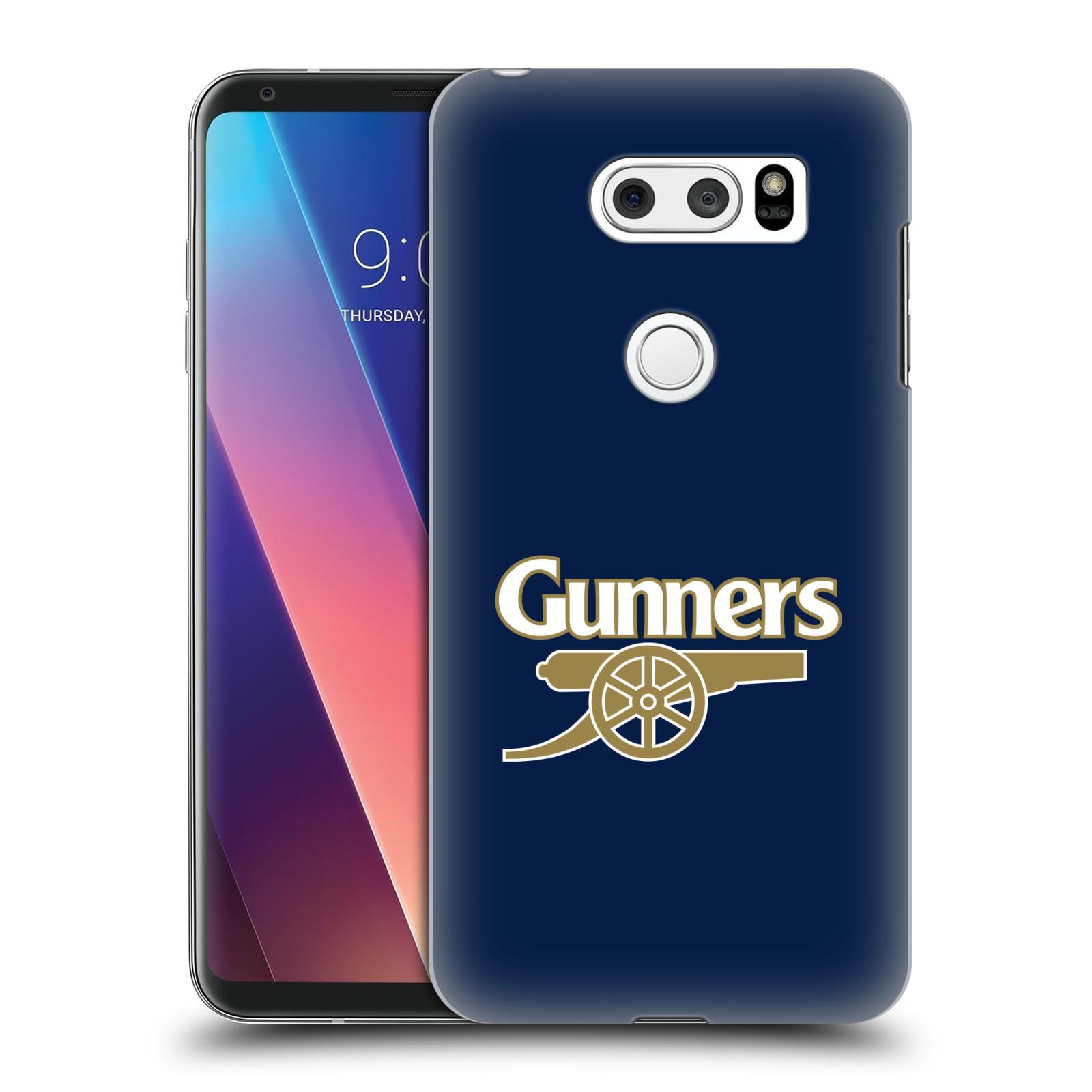 Plastové pouzdro na mobil LG V30 - Head Case - Arsenal FC - Gunners