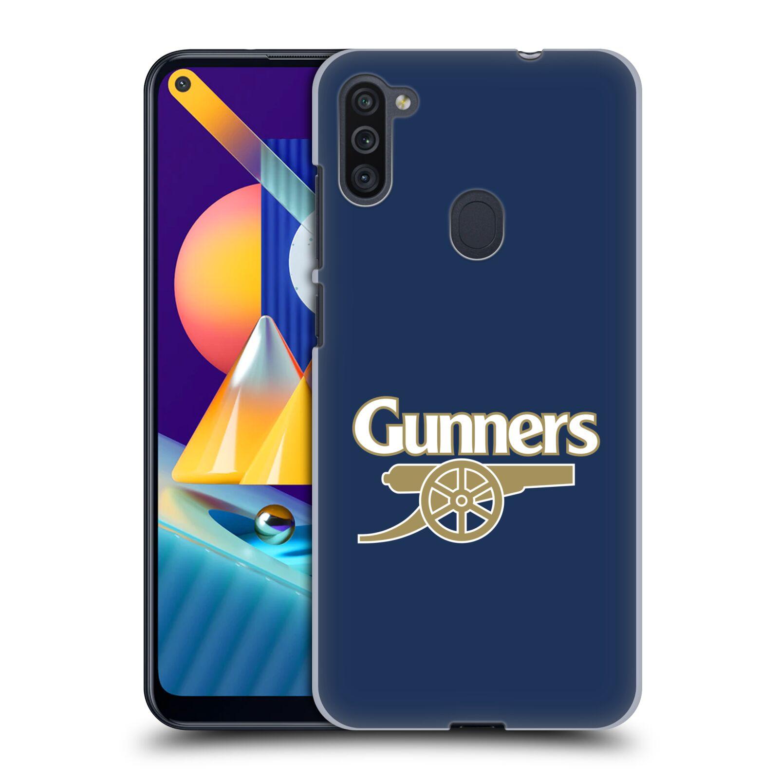 Plastové pouzdro na mobil Samsung Galaxy M11 - Head Case - Arsenal FC - Gunners