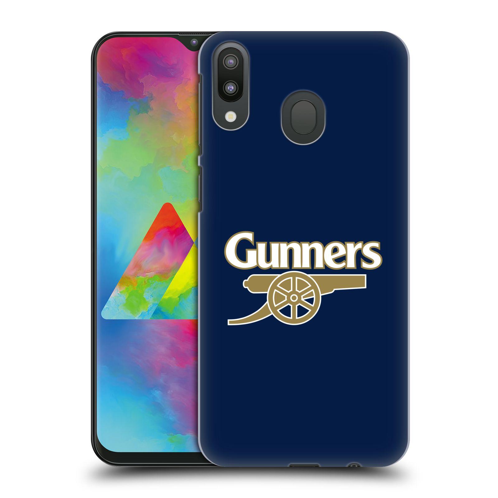 Plastové pouzdro na mobil Samsung Galaxy M20 - Head Case - Arsenal FC - Gunners