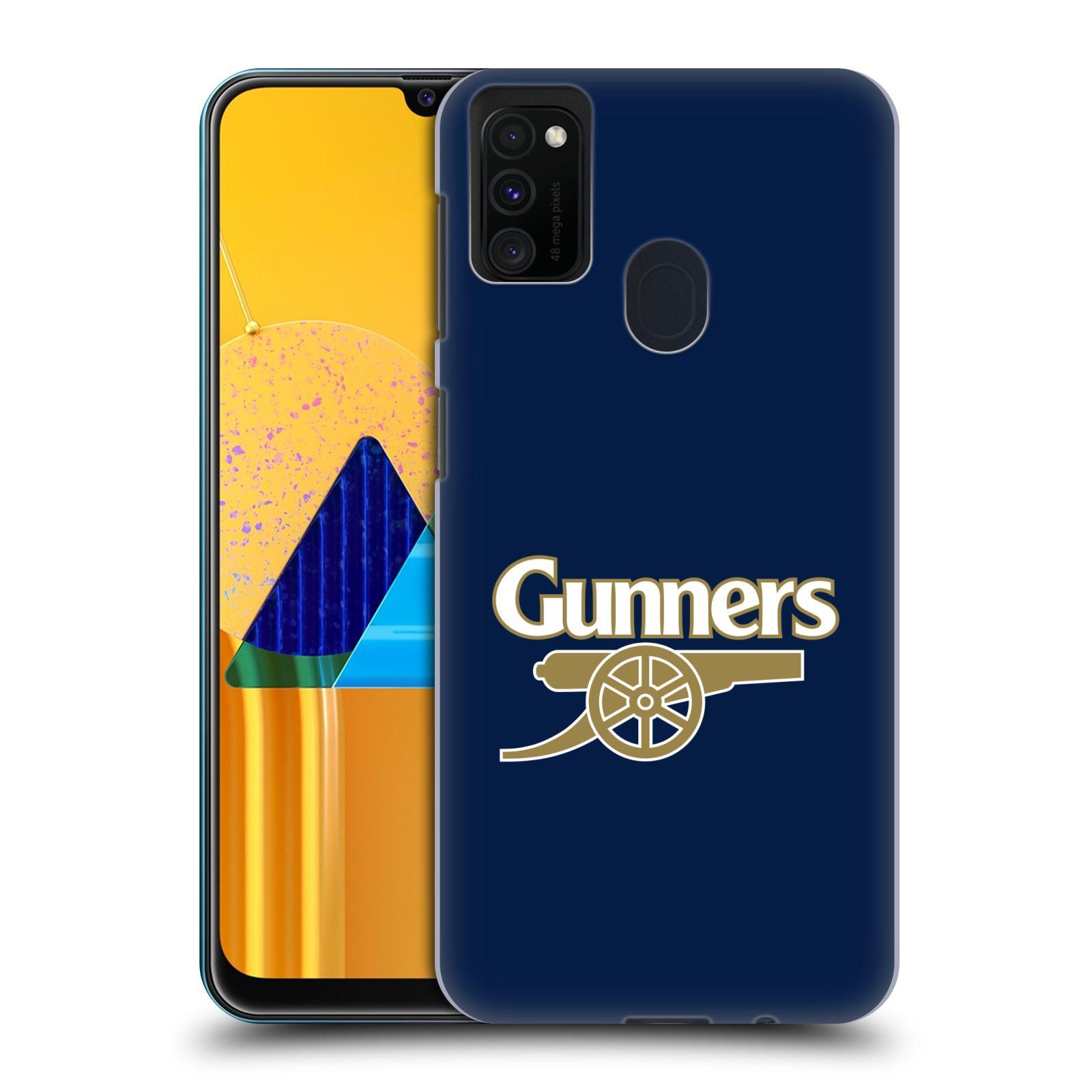 Plastové pouzdro na mobil Samsung Galaxy M21 - Head Case - Arsenal FC - Gunners