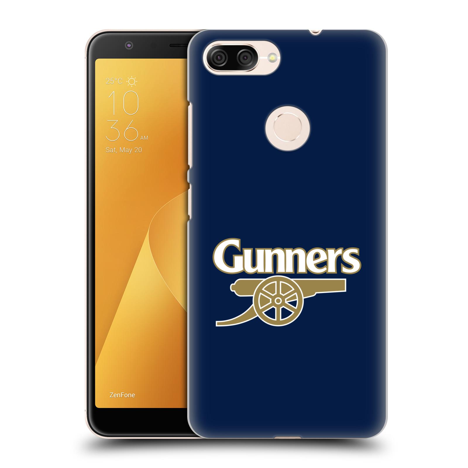 Plastové pouzdro na mobil Asus ZenFone Max Plus (M1) - Head Case - Arsenal FC - Gunners