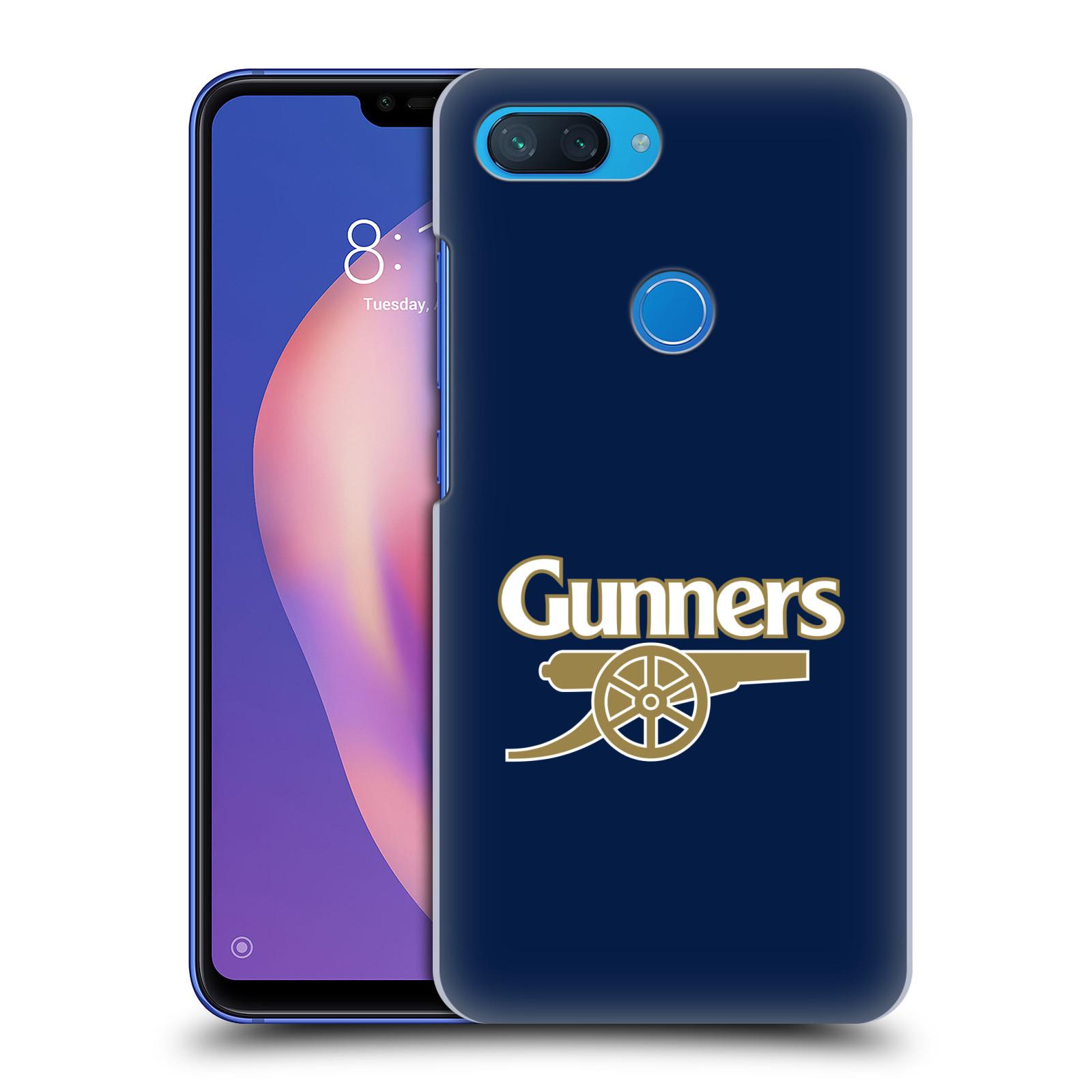 Plastové pouzdro na mobil Xiaomi Mi 8 Lite - Head Case - Arsenal FC - Gunners