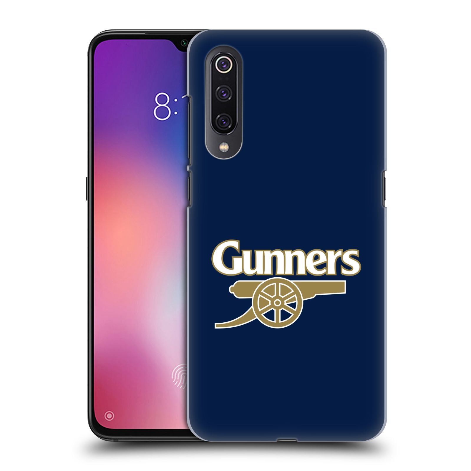 Plastové pouzdro na mobil Xiaomi Mi 9 - Head Case - Arsenal FC - Gunners