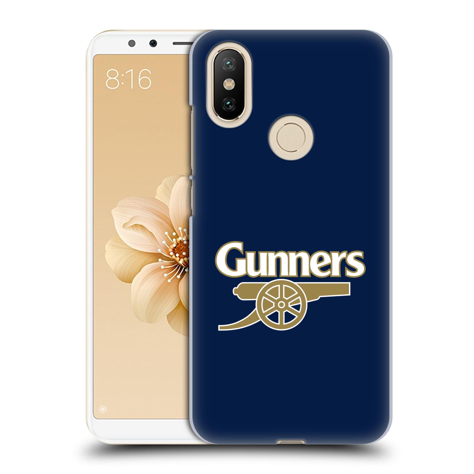 Plastové pouzdro na mobil Xiaomi Mi A2 - Head Case - Arsenal FC - Gunners