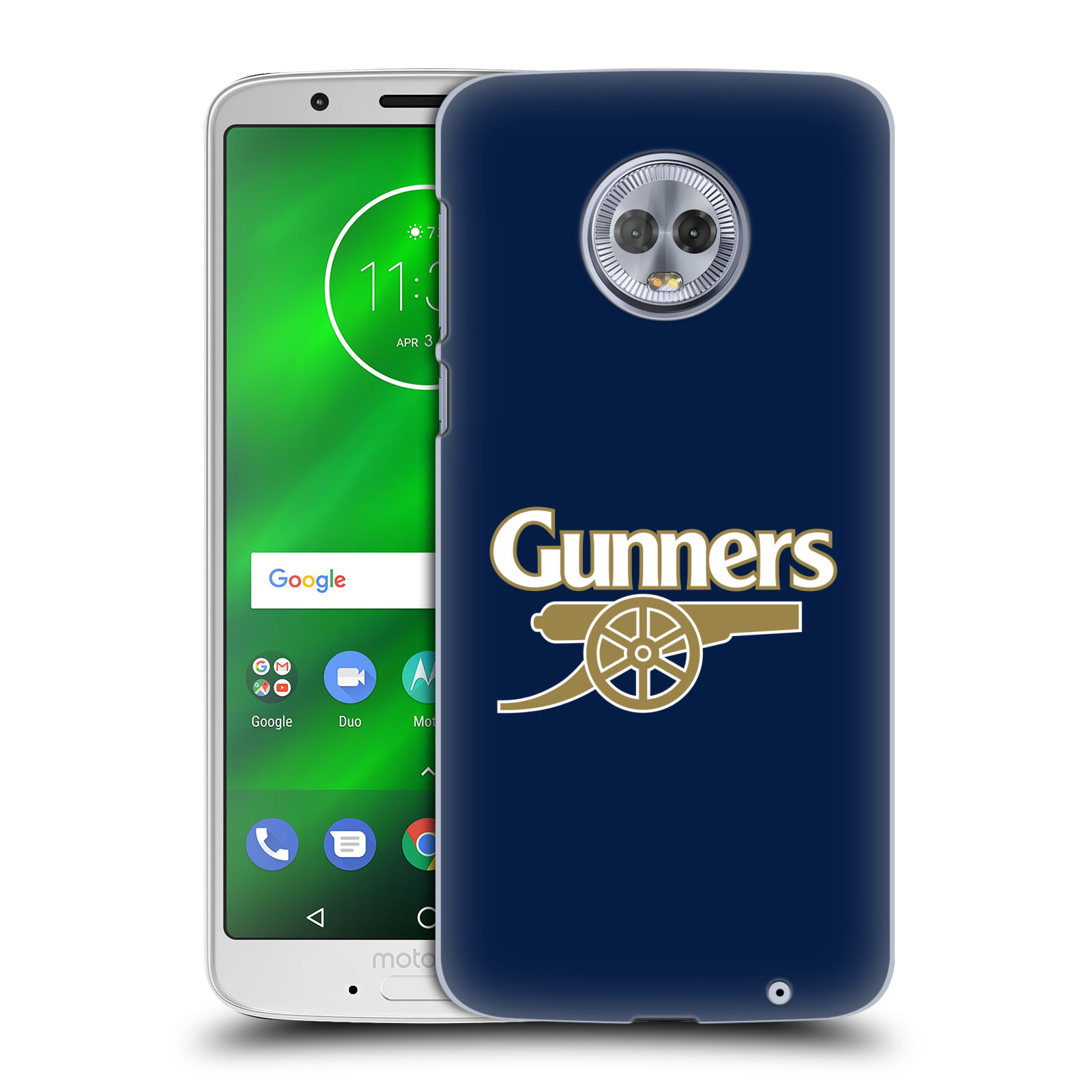 Plastové pouzdro na mobil Motorola Moto G6 Plus - Head Case - Arsenal FC - Gunners