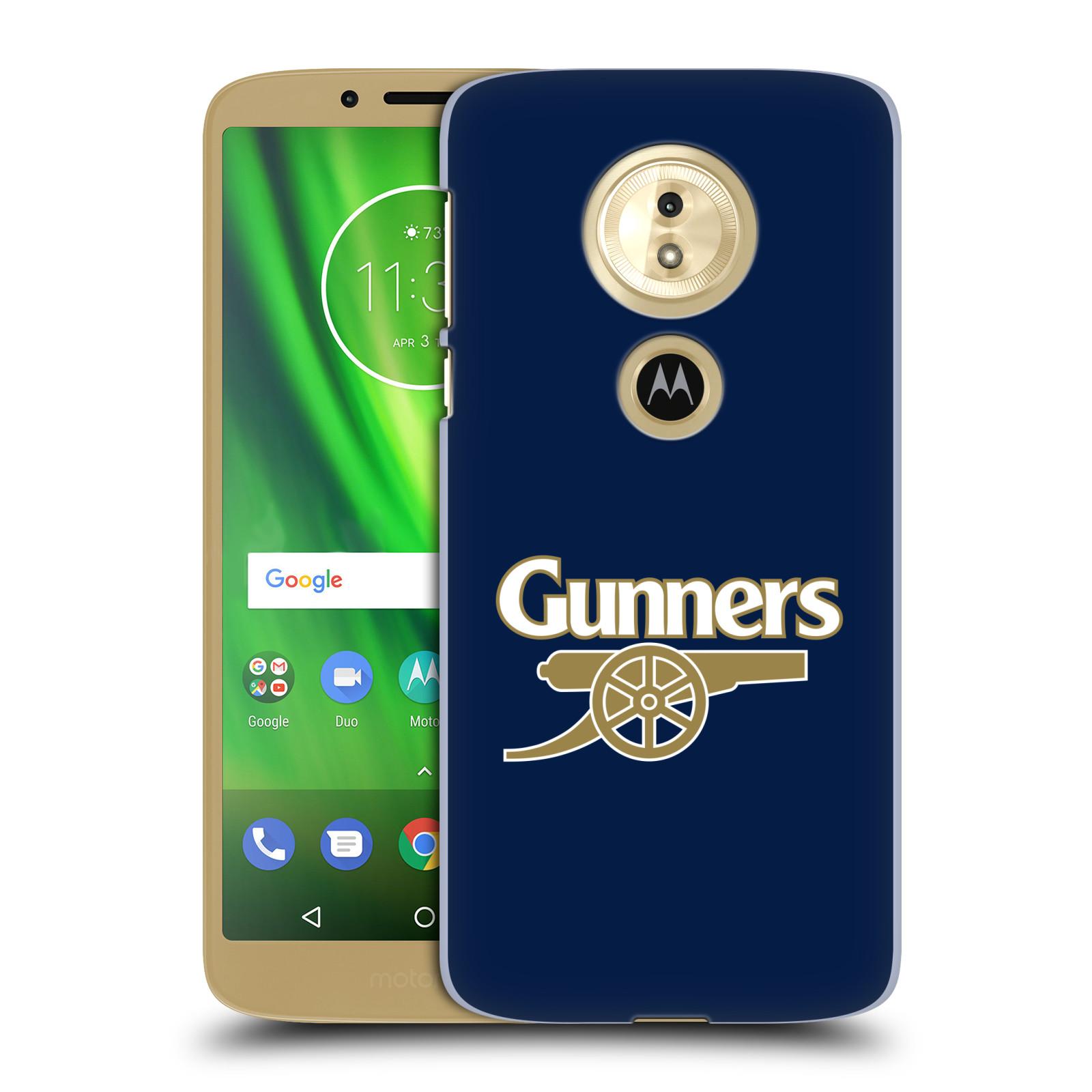 Plastové pouzdro na mobil Motorola Moto G6 Play - Head Case - Arsenal FC - Gunners