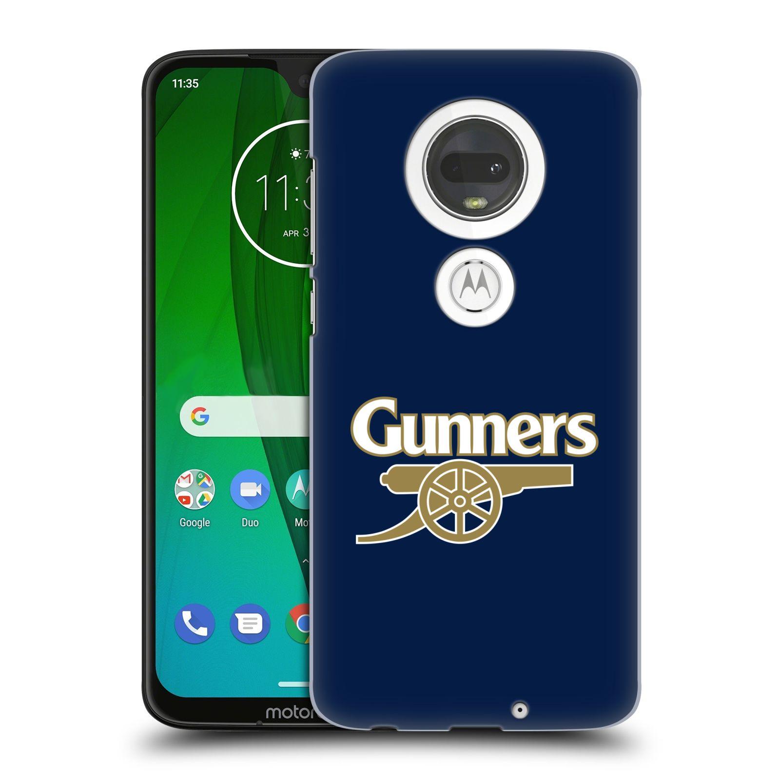 Plastové pouzdro na mobil Motorola Moto G7 - Head Case - Arsenal FC - Gunners