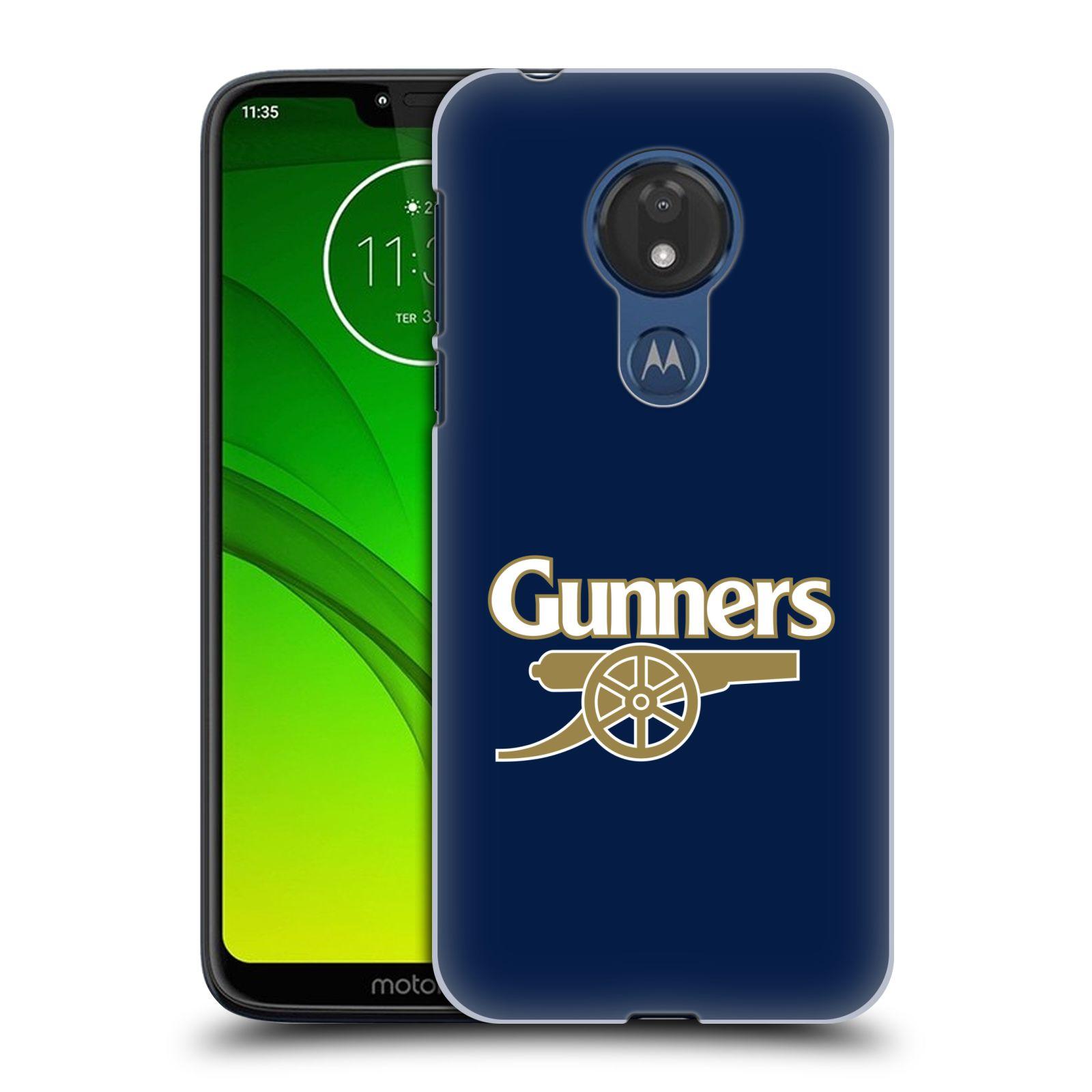 Plastové pouzdro na mobil Motorola Moto G7 Power - Head Case - Arsenal FC - Gunners