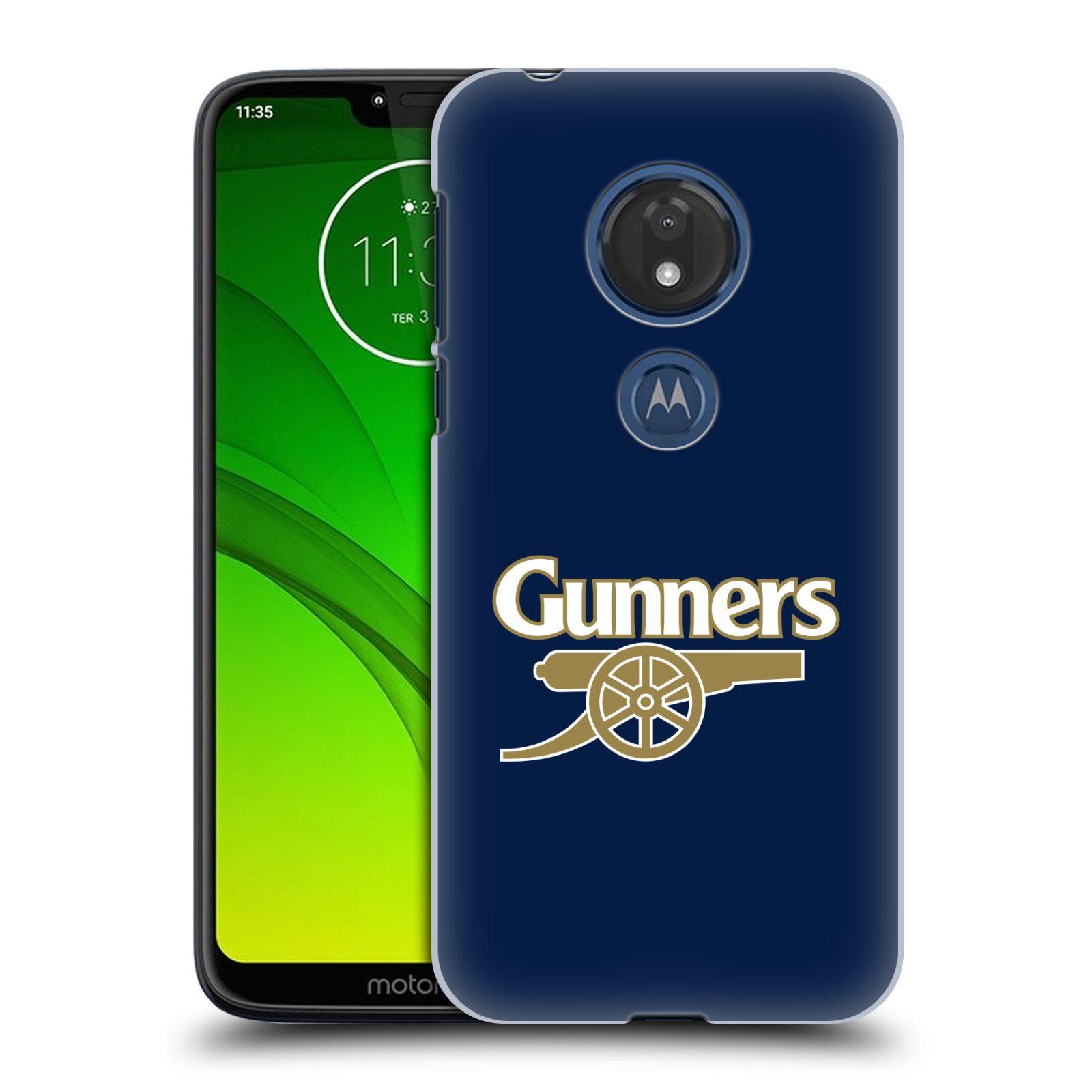 Plastové pouzdro na mobil Motorola Moto G7 Play - Head Case - Arsenal FC - Gunners