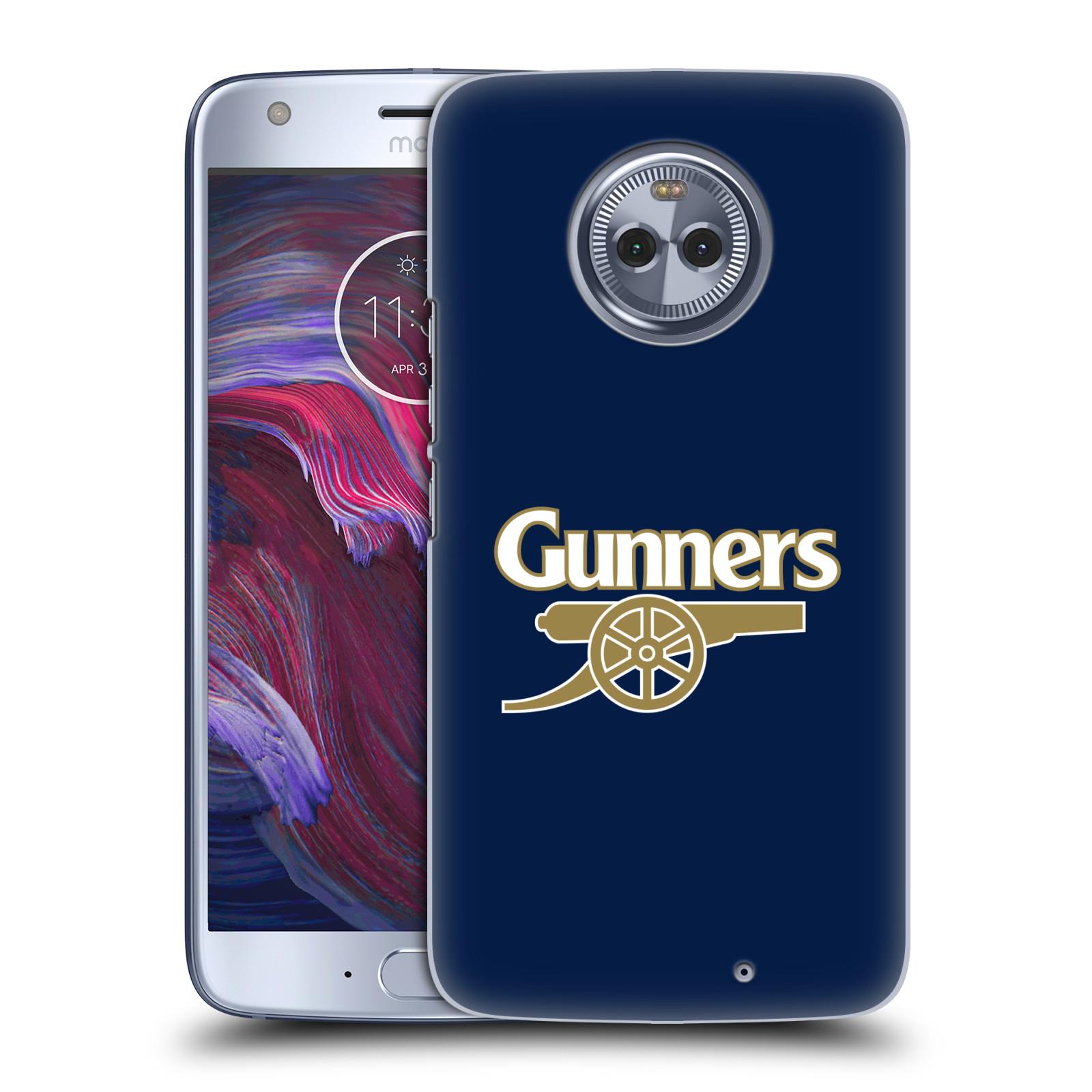Plastové pouzdro na mobil Lenovo Moto X4 - Head Case - Arsenal FC - Gunners