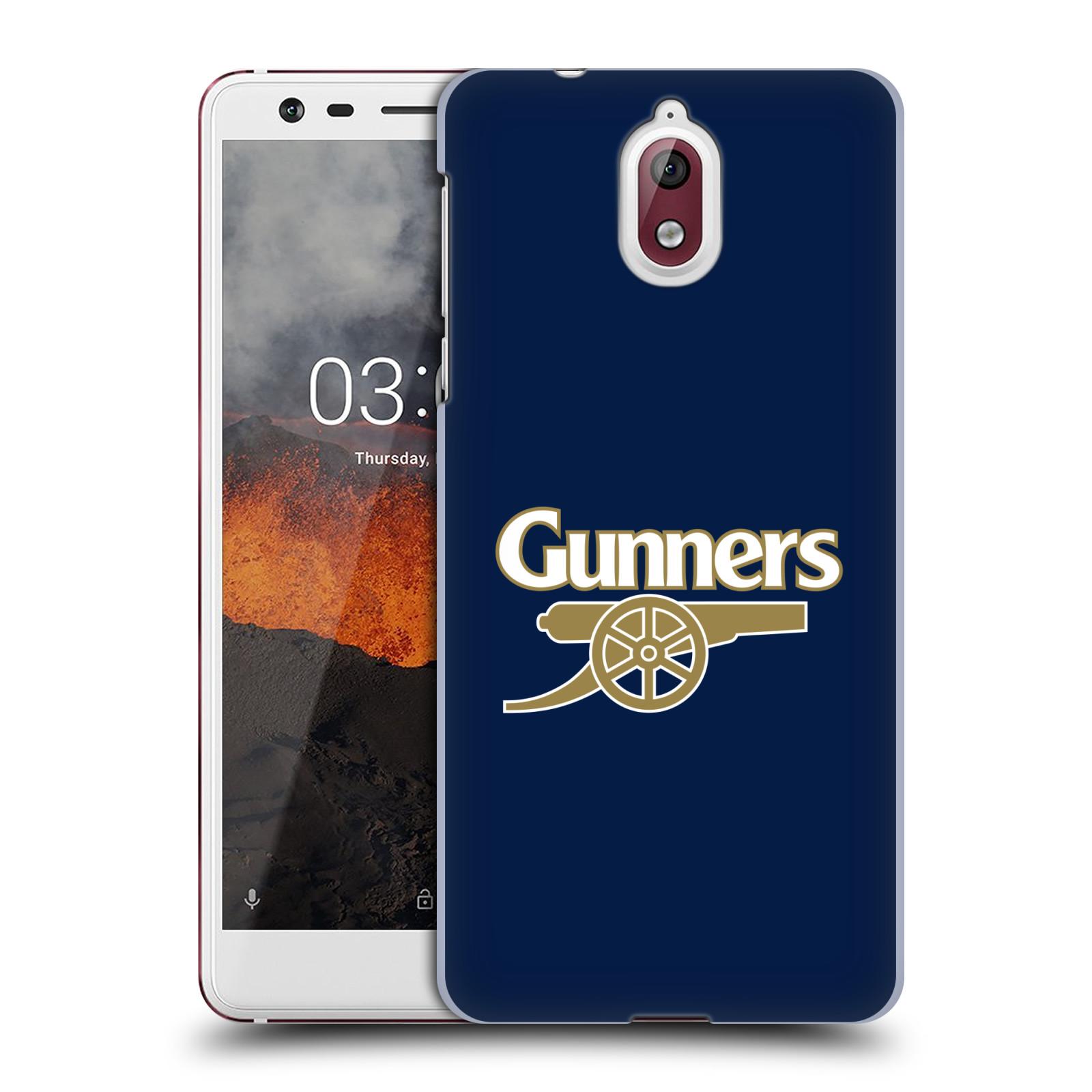 Plastové pouzdro na mobil Nokia 3.1 - Head Case - Arsenal FC - Gunners