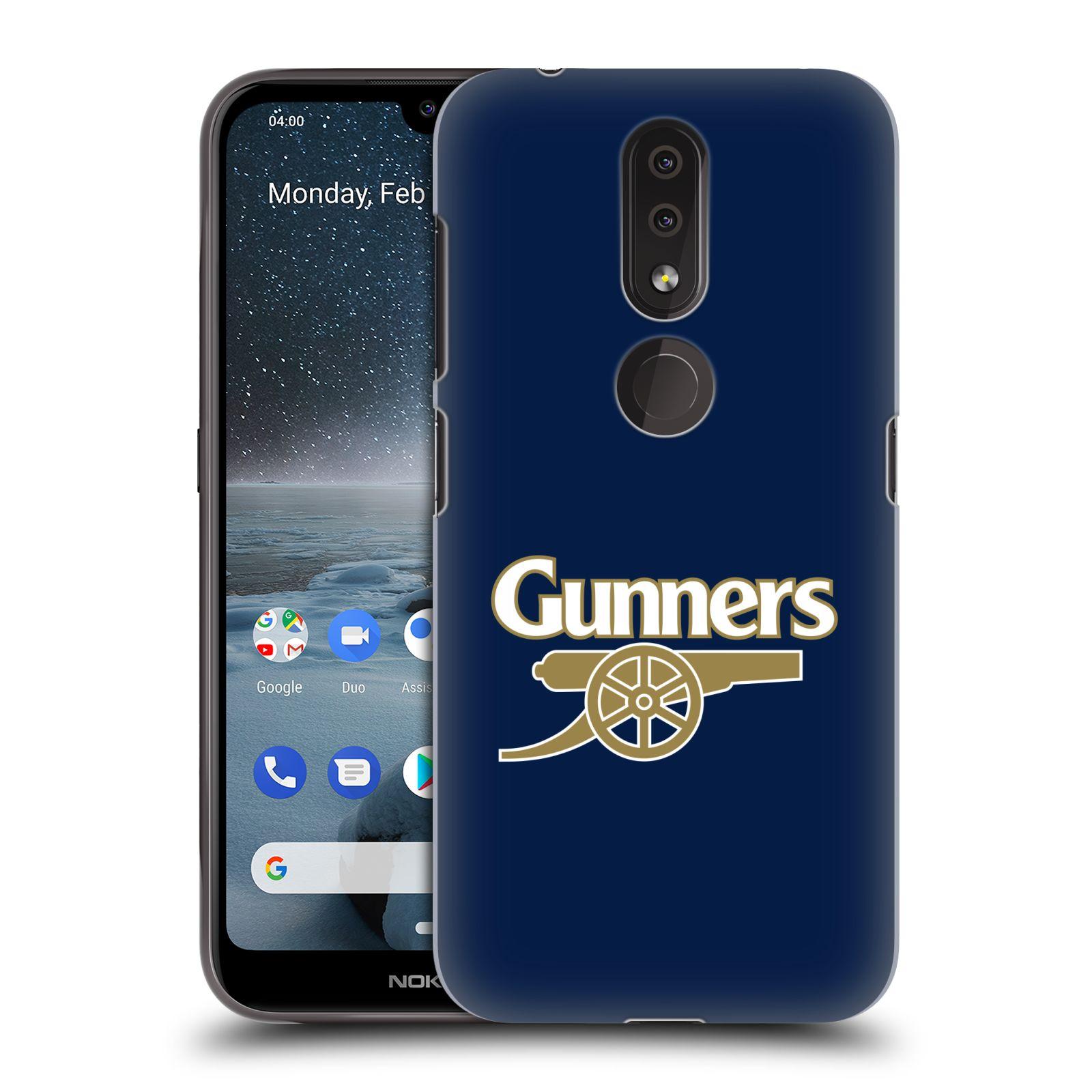 Plastové pouzdro na mobil Nokia 4.2 - Head Case - Arsenal FC - Gunners