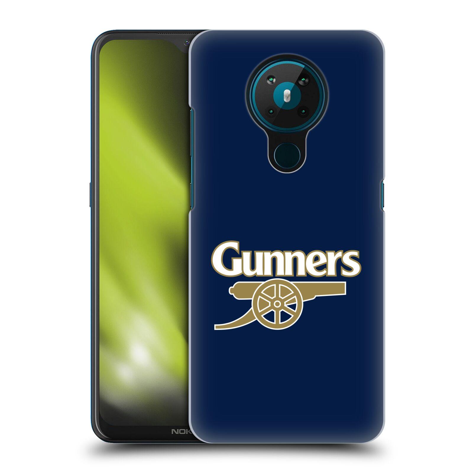 Plastové pouzdro na mobil Nokia 5.3 - Head Case - Arsenal FC - Gunners