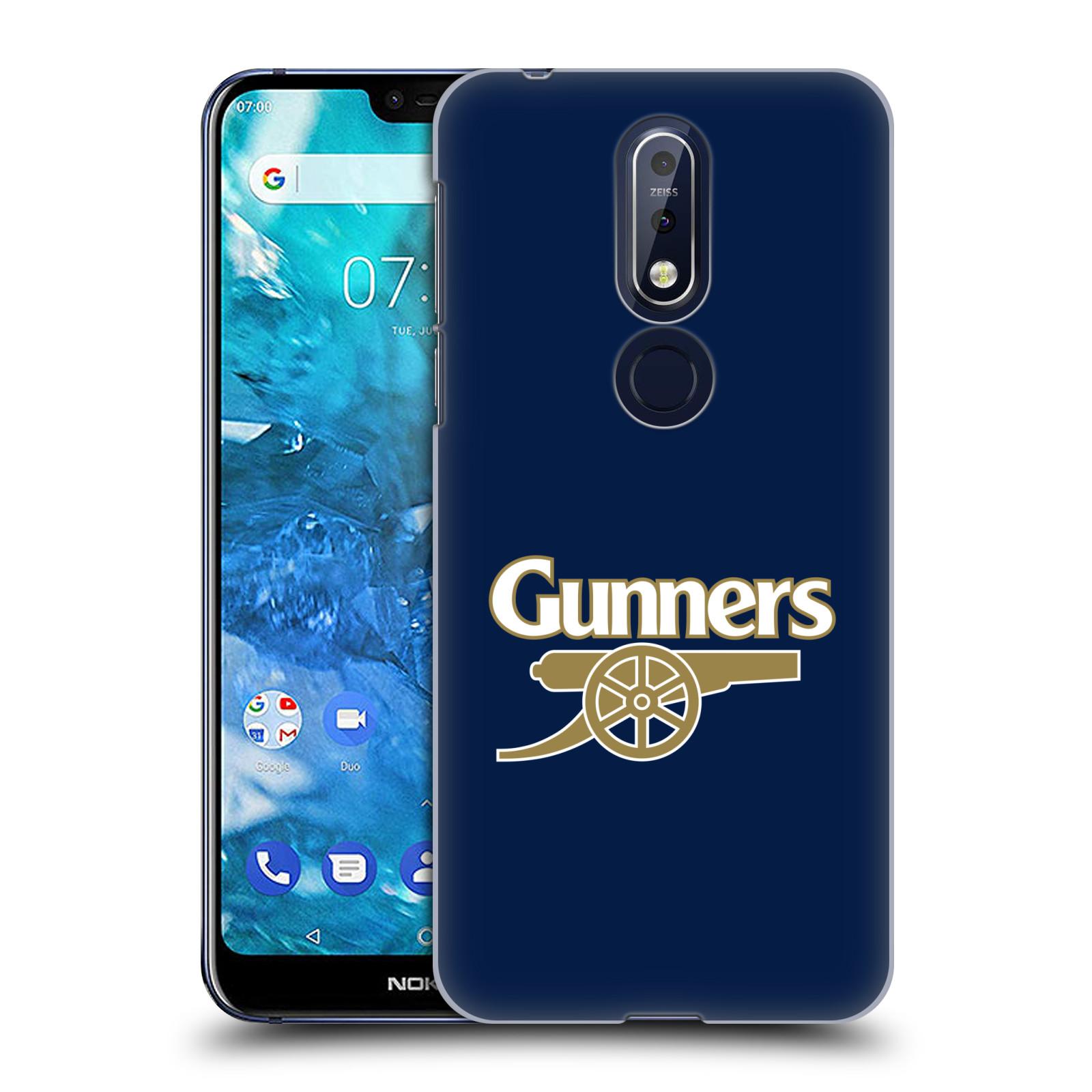 Plastové pouzdro na mobil Nokia 7.1 - Head Case - Arsenal FC - Gunners