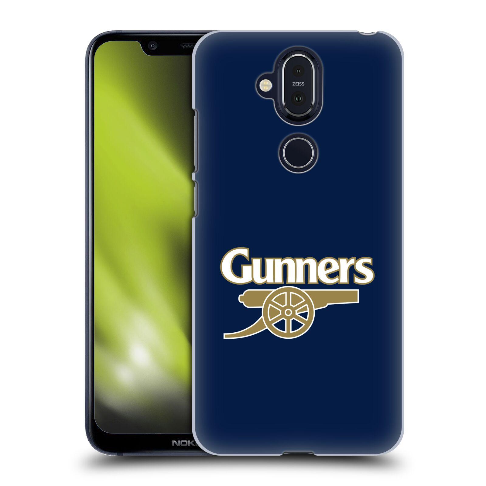 Plastové pouzdro na mobil Nokia 8.1 - Head Case - Arsenal FC - Gunners