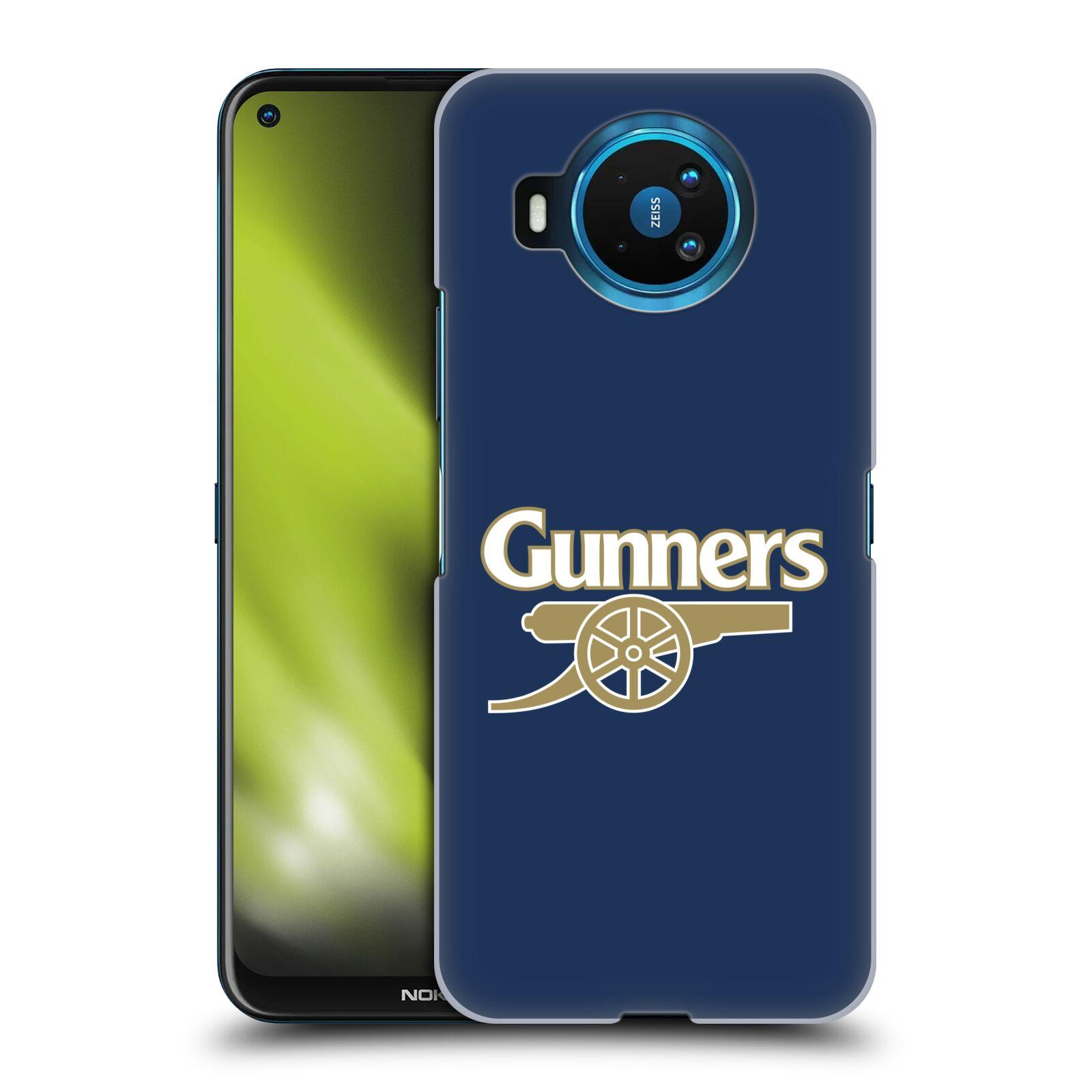 Plastové pouzdro na mobil Nokia 8.3 5G - Head Case - Arsenal FC - Gunners