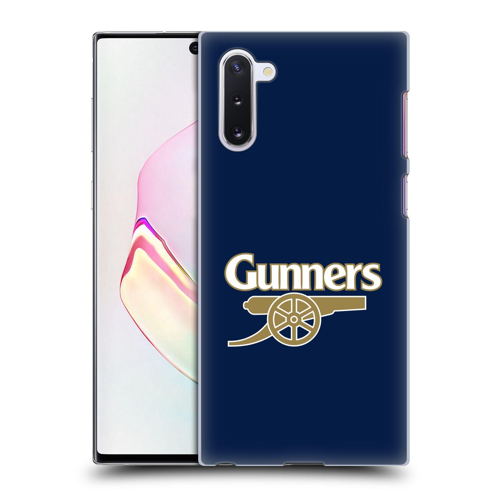 Plastové pouzdro na mobil Samsung Galaxy Note 10 - Head Case - Arsenal FC - Gunners