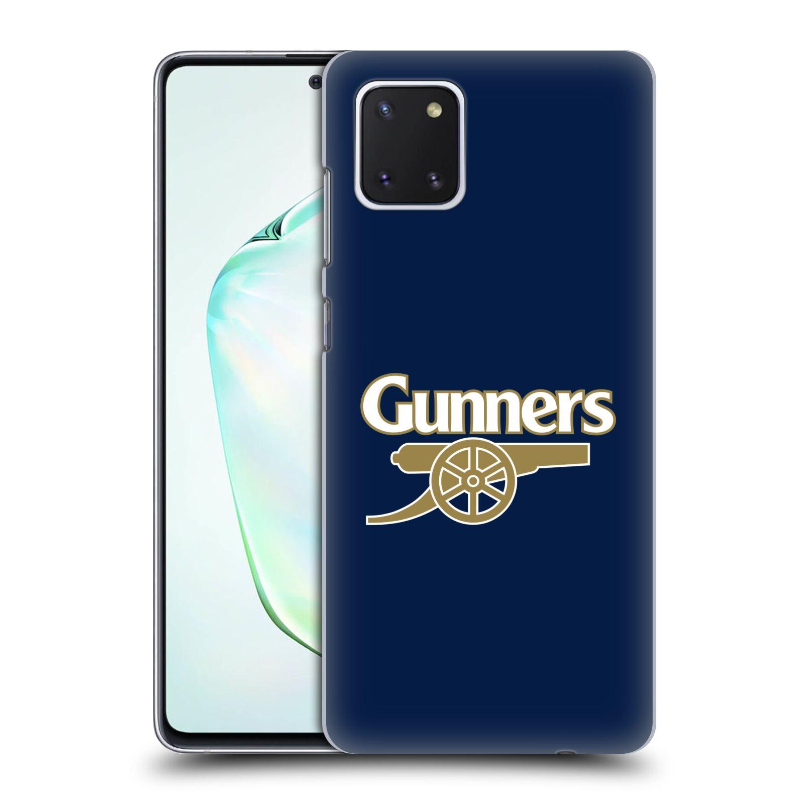 Plastové pouzdro na mobil Samsung Galaxy Note 10 Lite - Head Case - Arsenal FC - Gunners