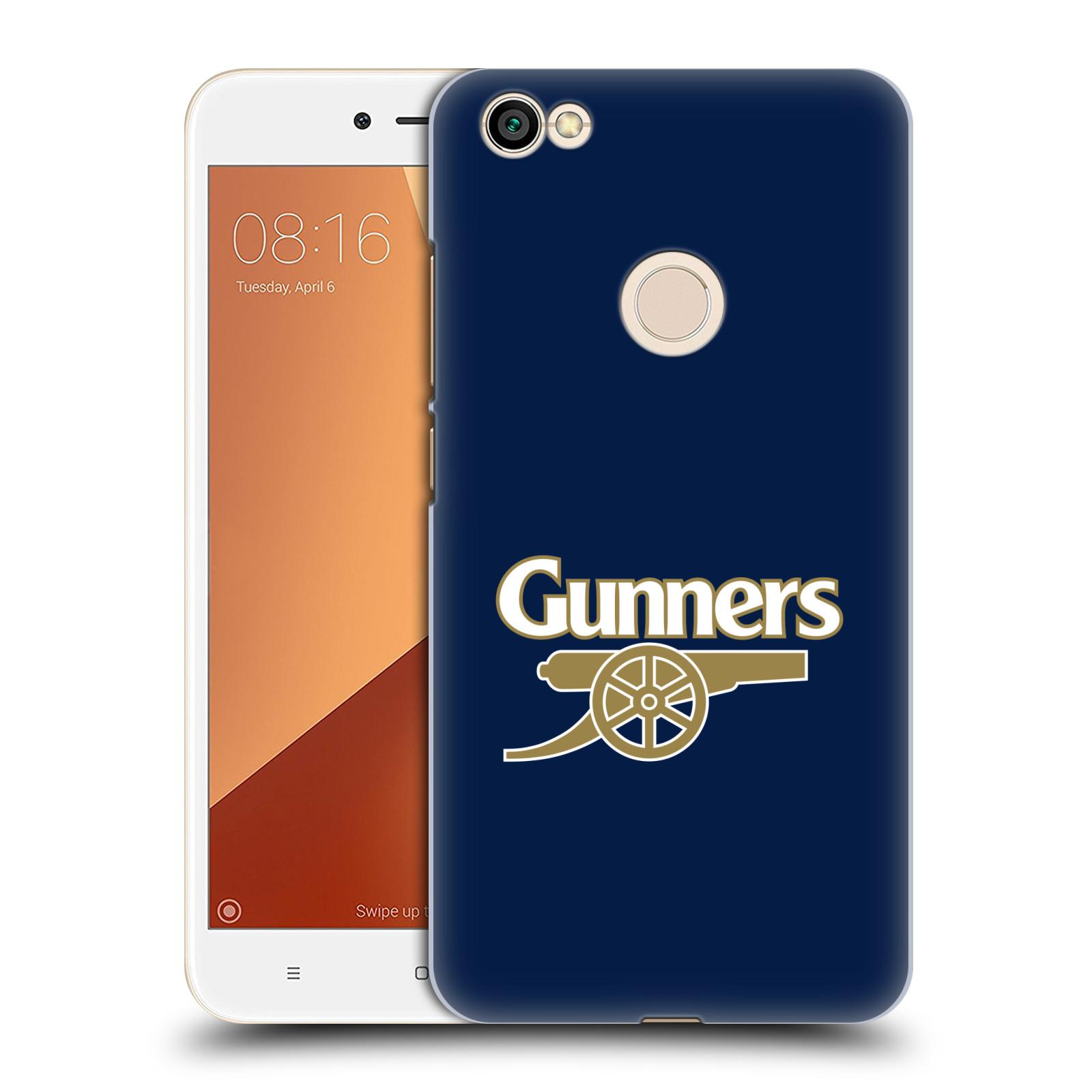 Plastové pouzdro na mobil Xiaomi Redmi Note 5A Prime - Head Case - Arsenal FC - Gunners