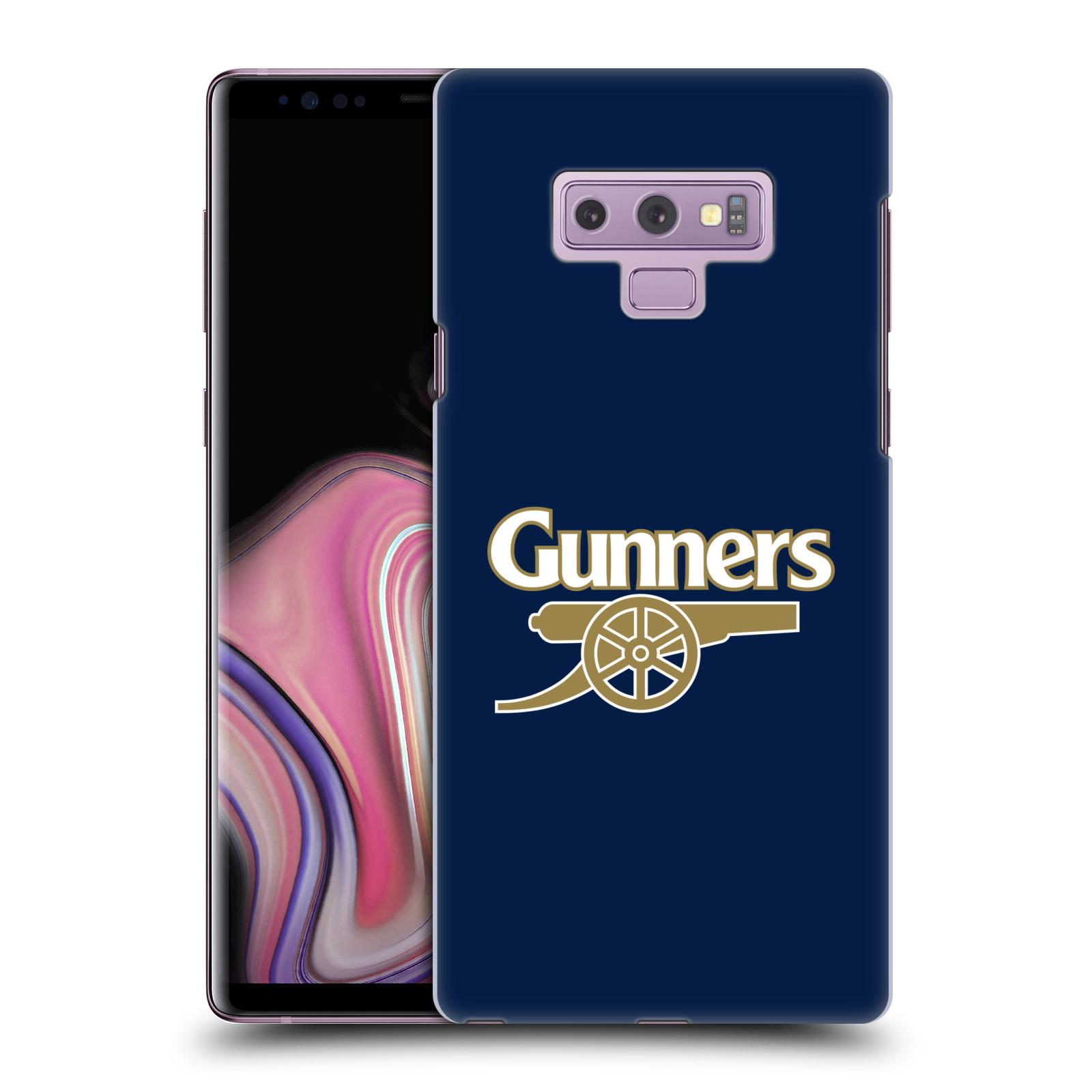 Plastové pouzdro na mobil Samsung Galaxy Note 9 - Head Case - Arsenal FC - Gunners